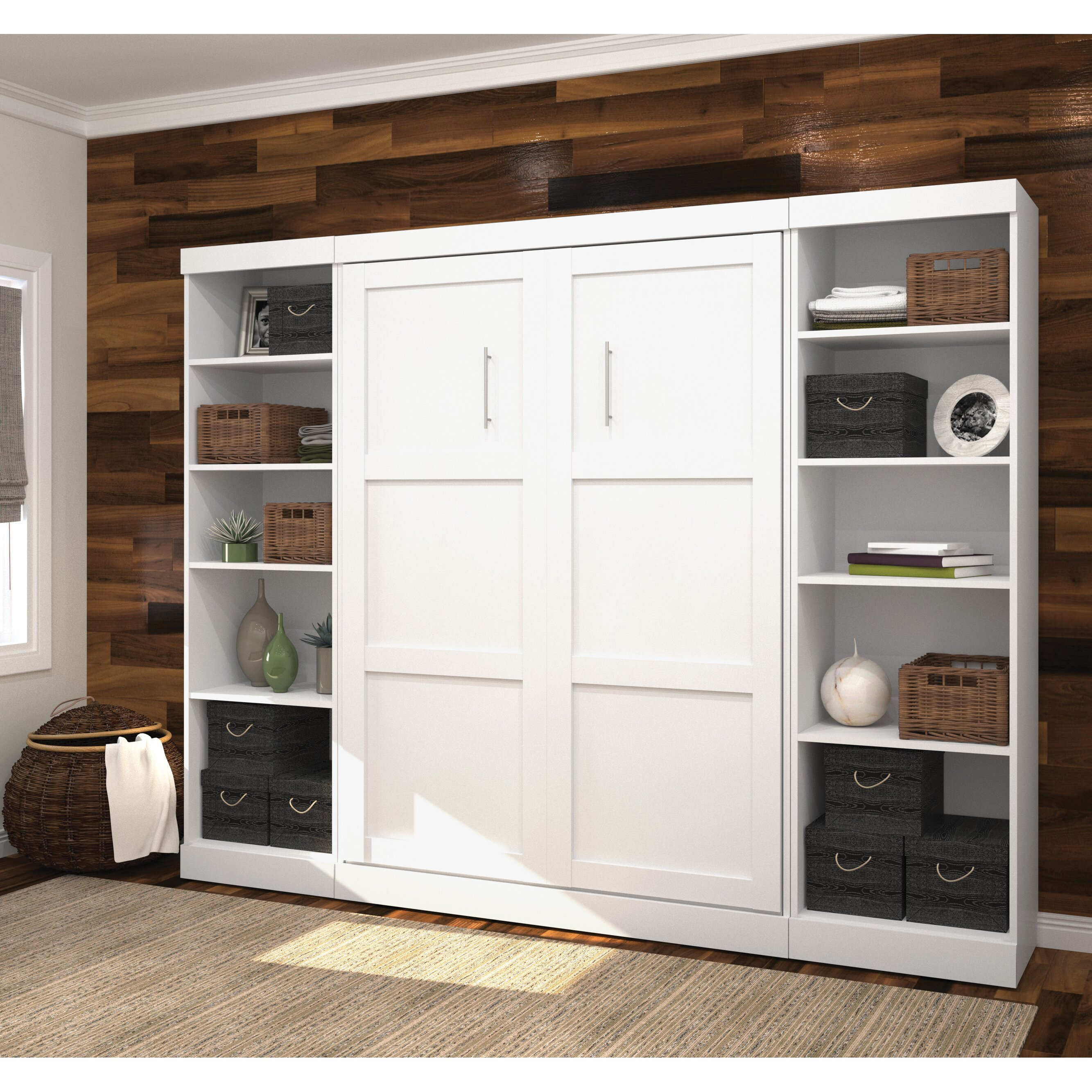 latitude run full double storage murphy bed reviews. Black Bedroom Furniture Sets. Home Design Ideas