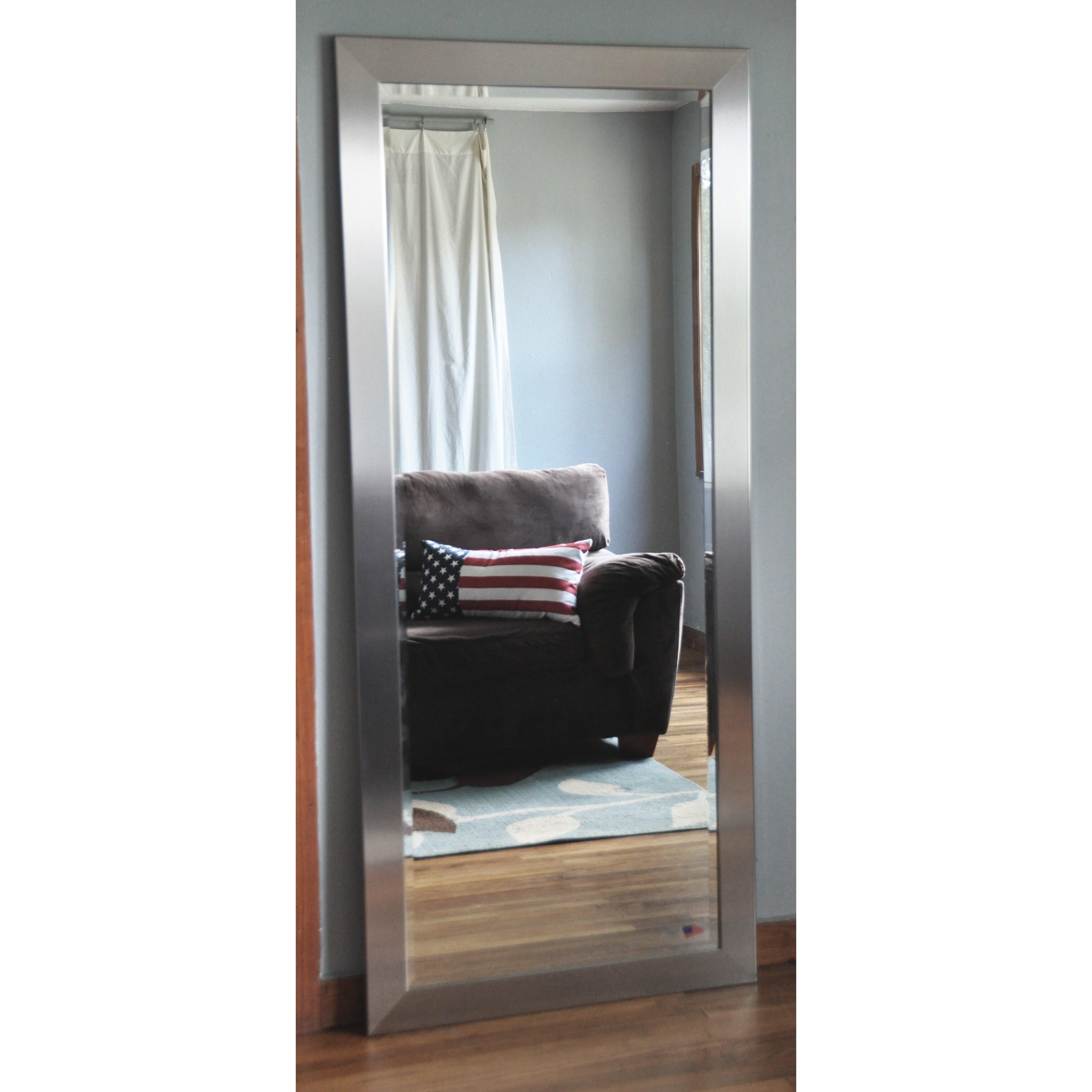 Wide Full Length Beveled Body Mirror Wayfair