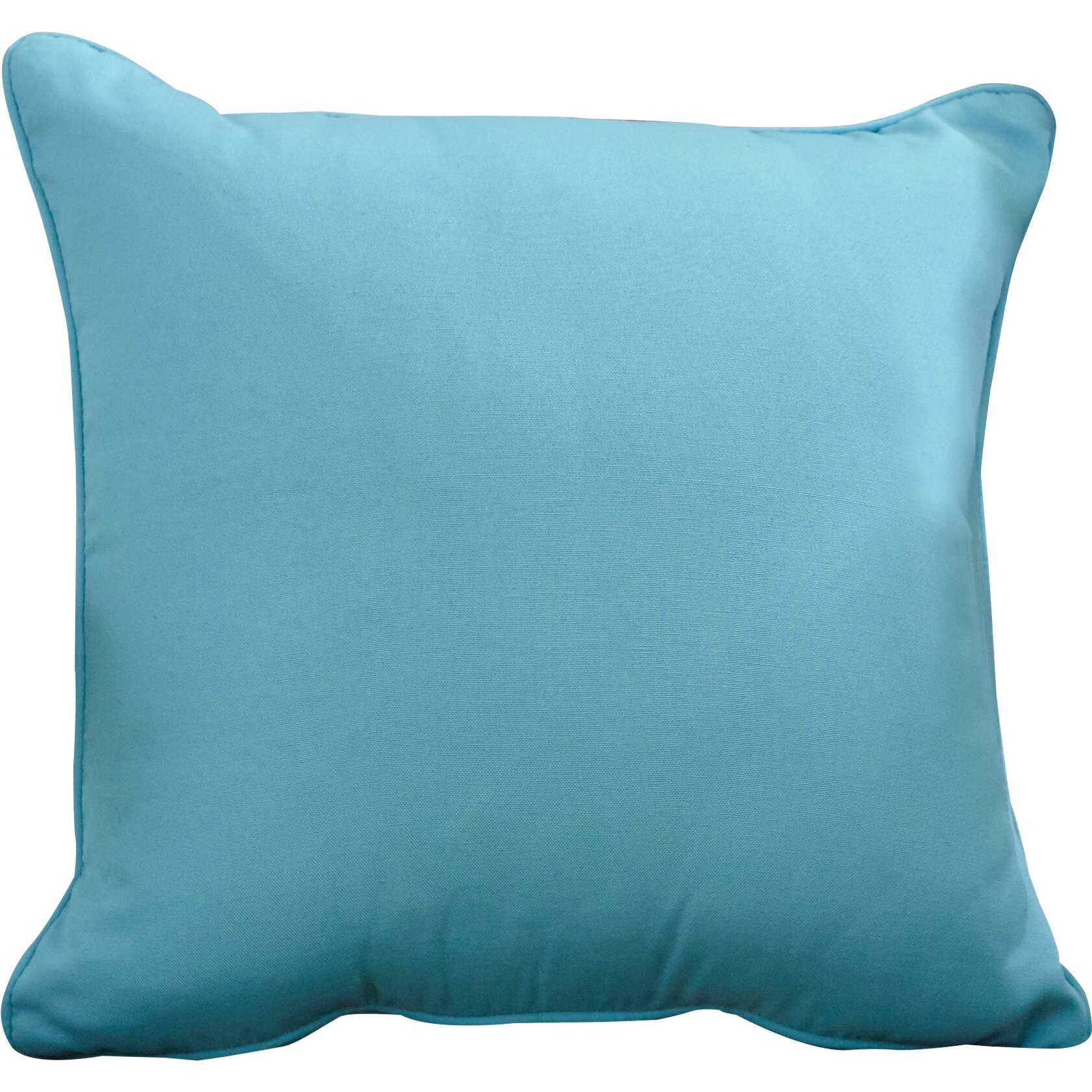 Wayfair Custom Outdoor Cushions Outdoor Solid Throw Pillow & Reviews Wayfair