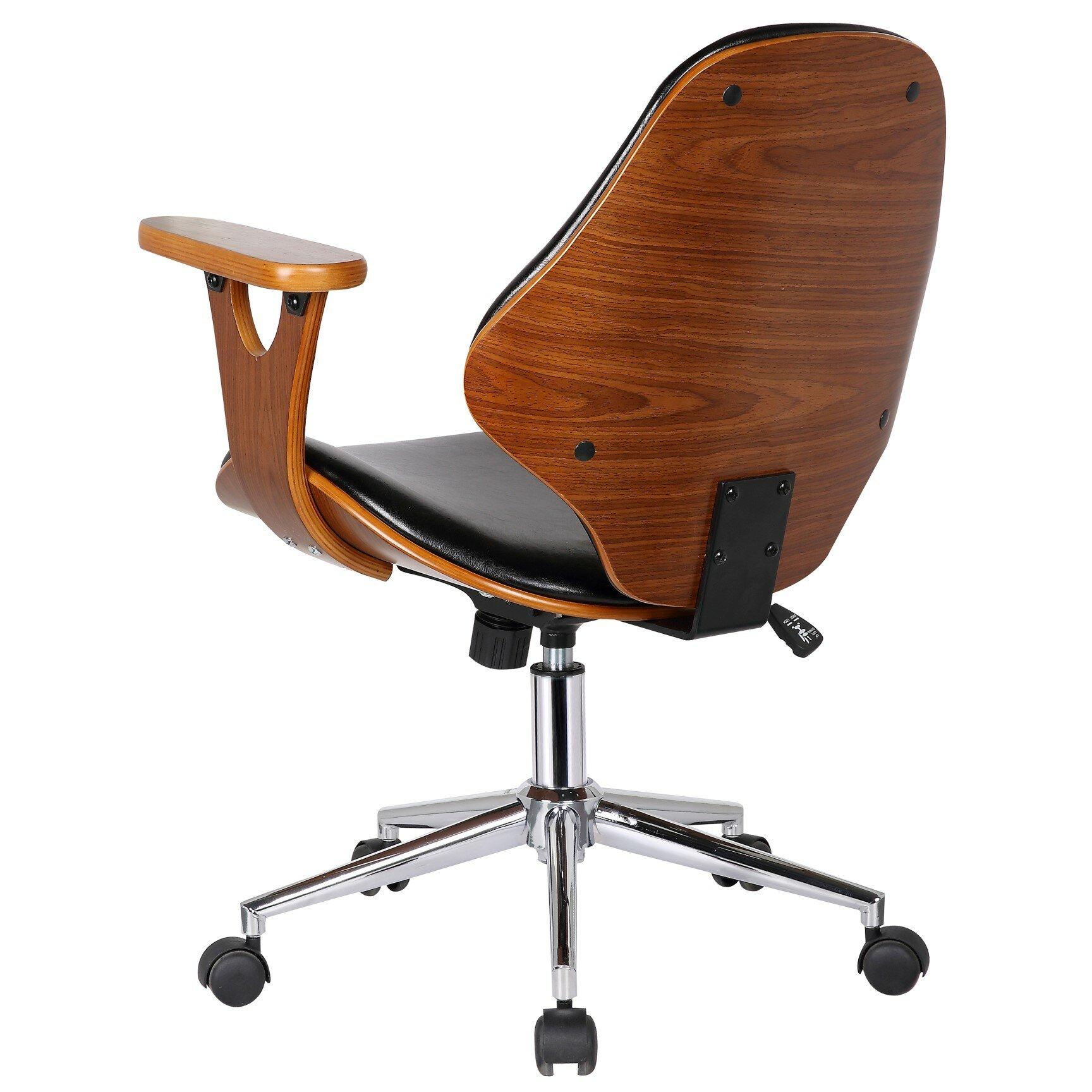 Adjustable Desk Chair contemporary desk chair w adjustable seat