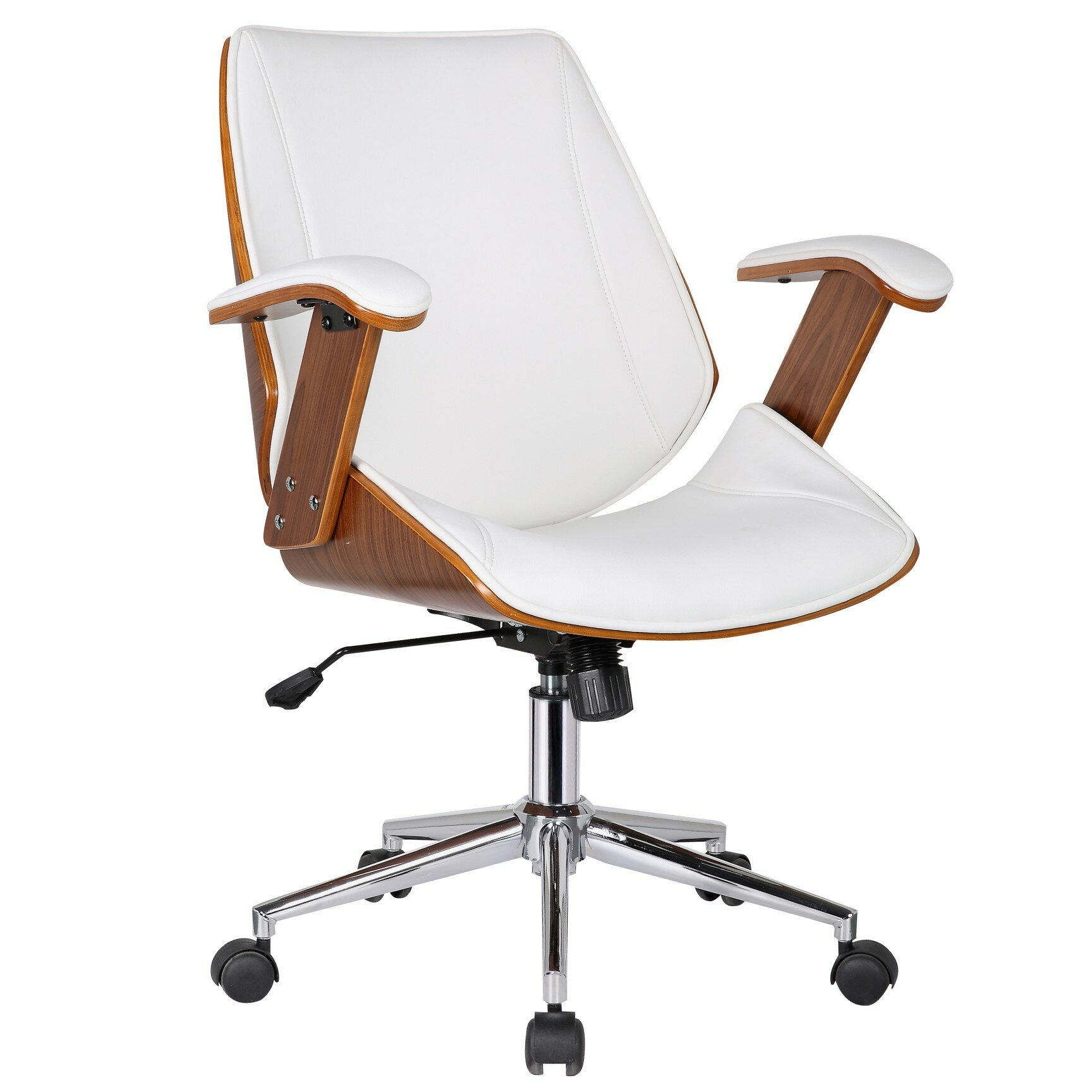 Midcentury Modern High-Back Office Chair
