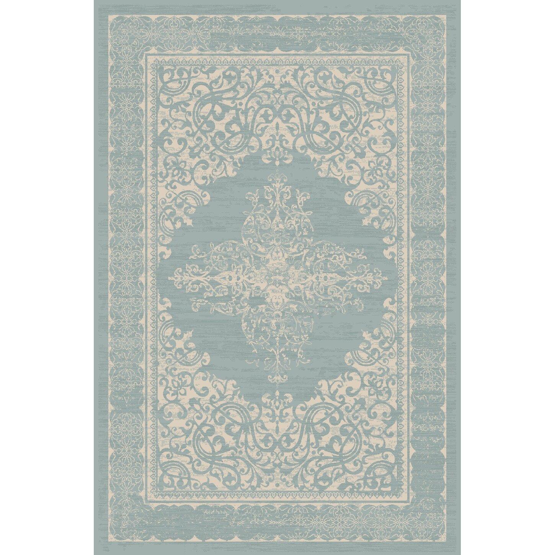 Art Carpet Plymouth Teal Beige Indoor Outdoor Area Rug