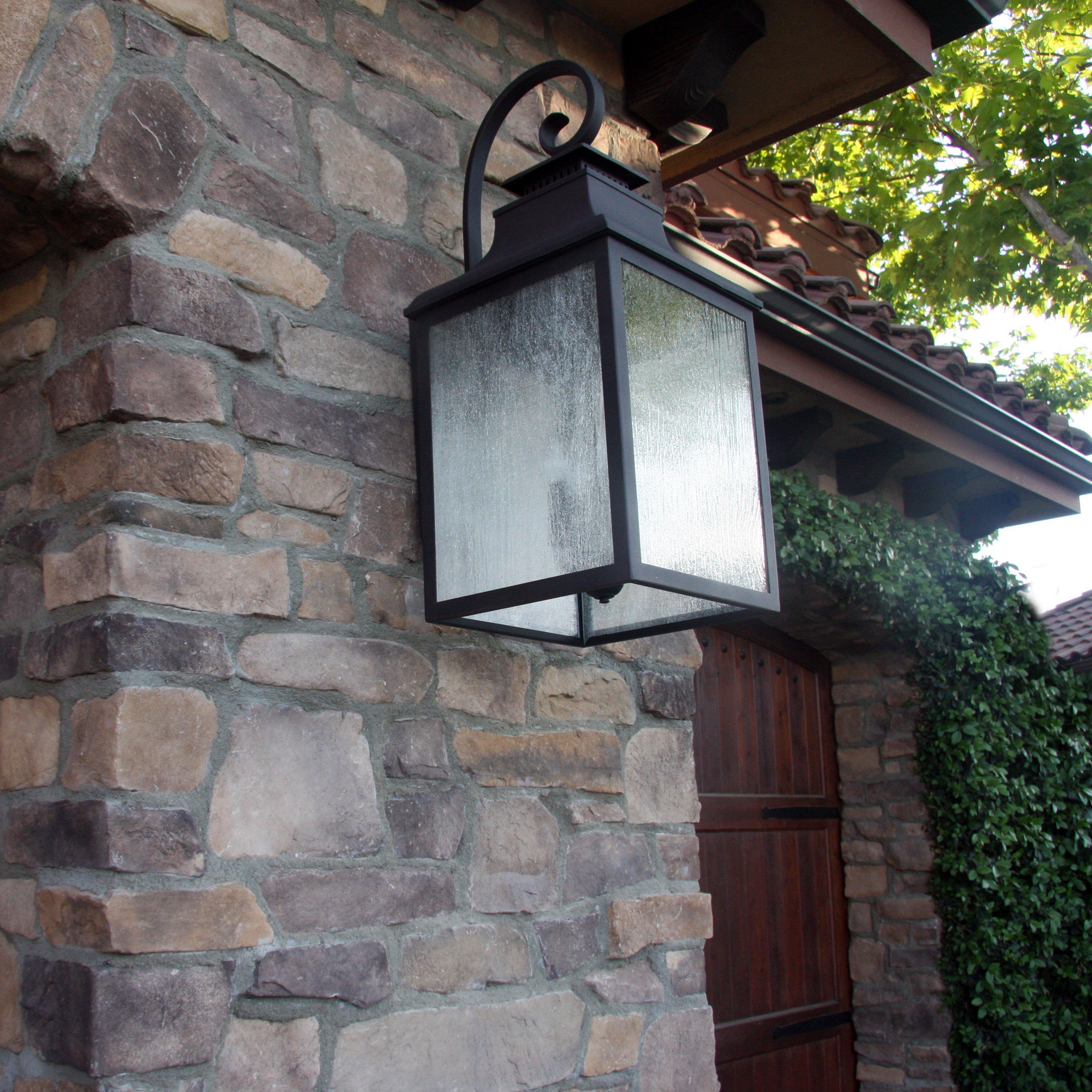 Outdoor Lamp Decoration: Y Decor Morgan 3 Light Outdoor Wall Lantern & Reviews