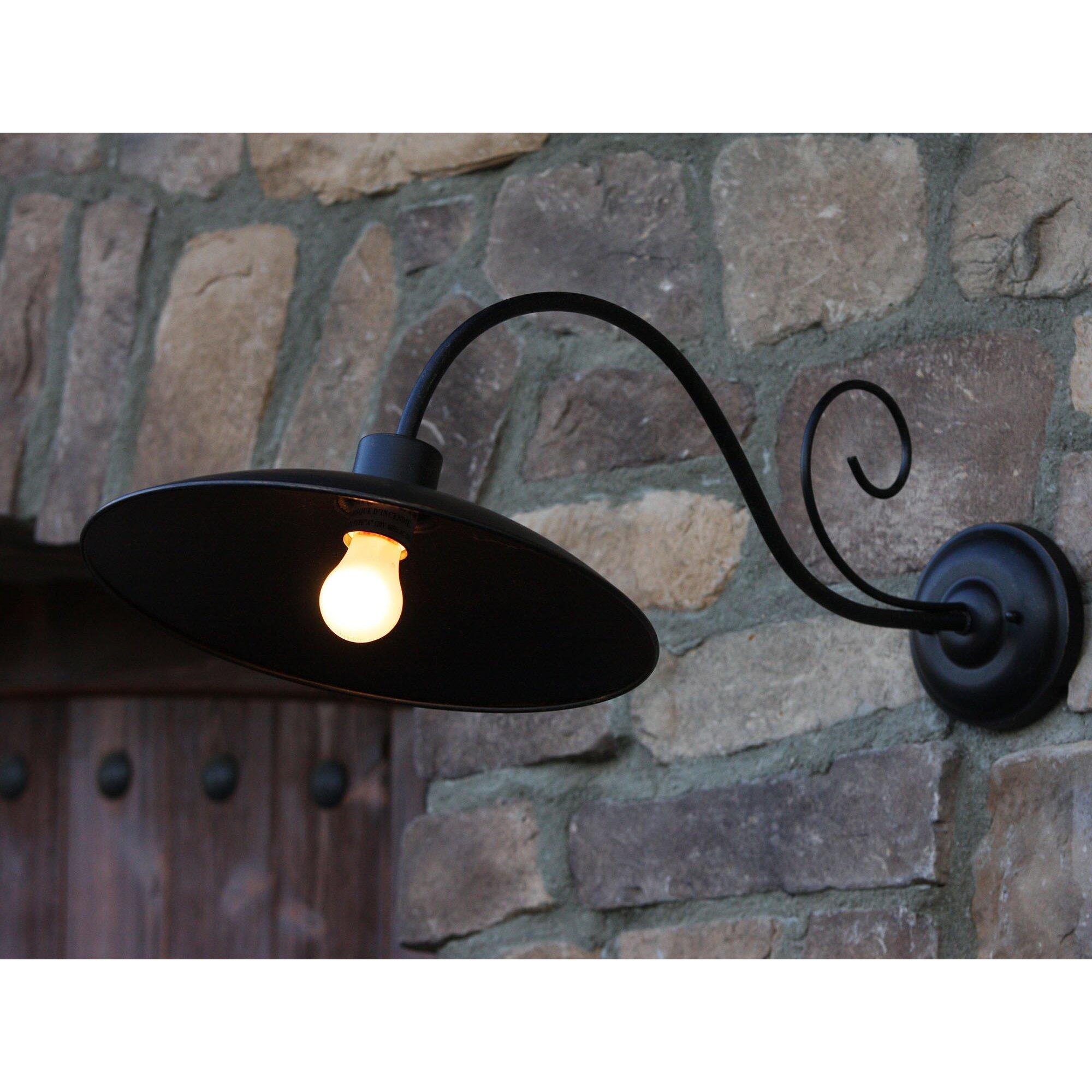 Thomas 1 Light Outdoor Barn Light