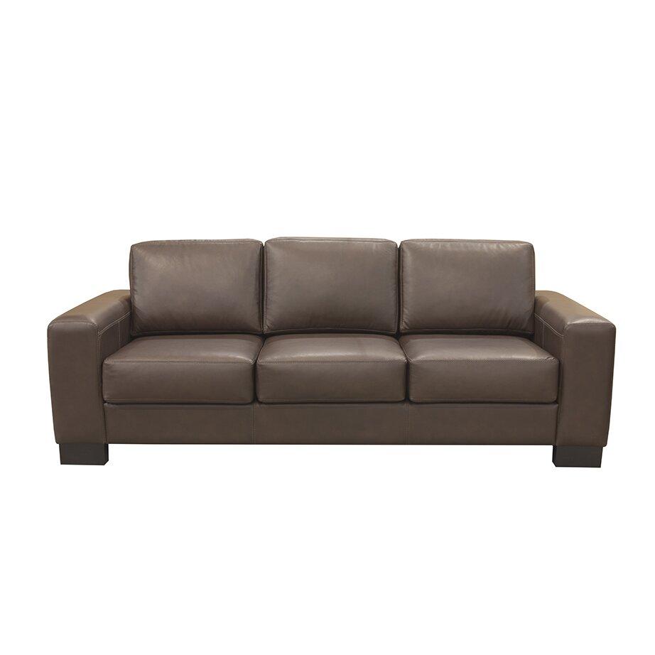 Mayfair Leather Sofa Wayfair