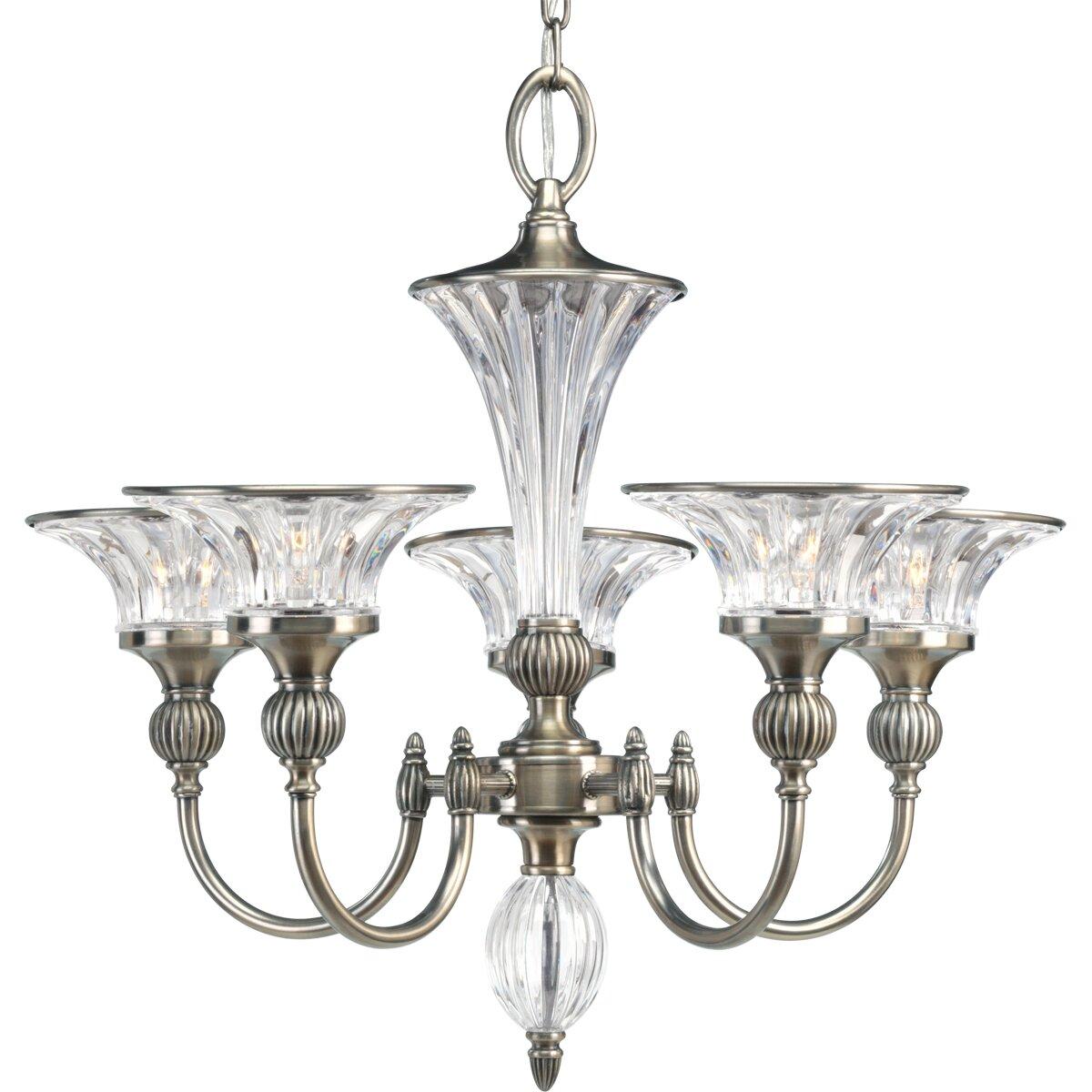 Progress lighting roxbury 5 light chandelier reviews for Thomasville lights