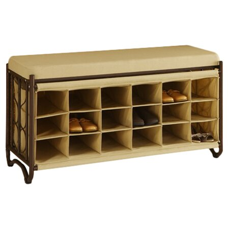 Metal Storage Bench Wayfair