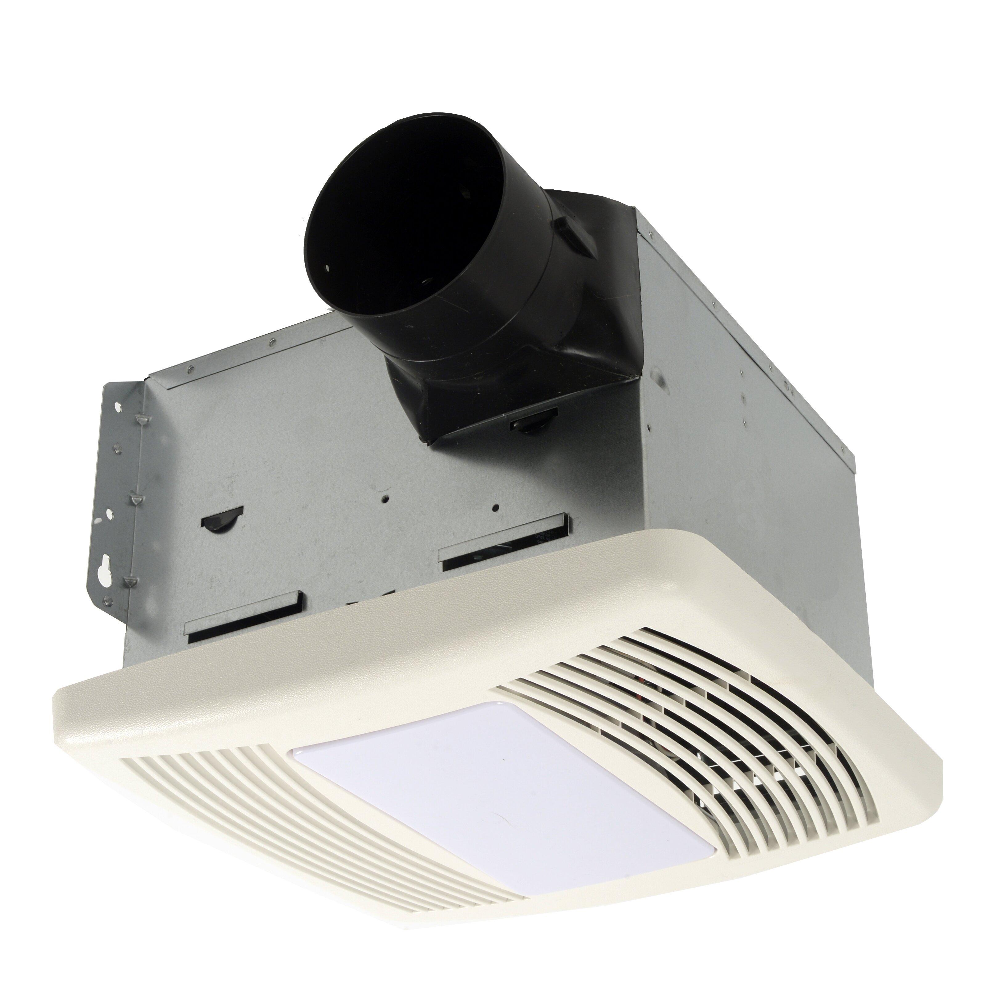 Cyclone Hushtone 150 Cfm Energy Star Bathroom Fan With Motion. Calculate Cfm For Bathroom Fan