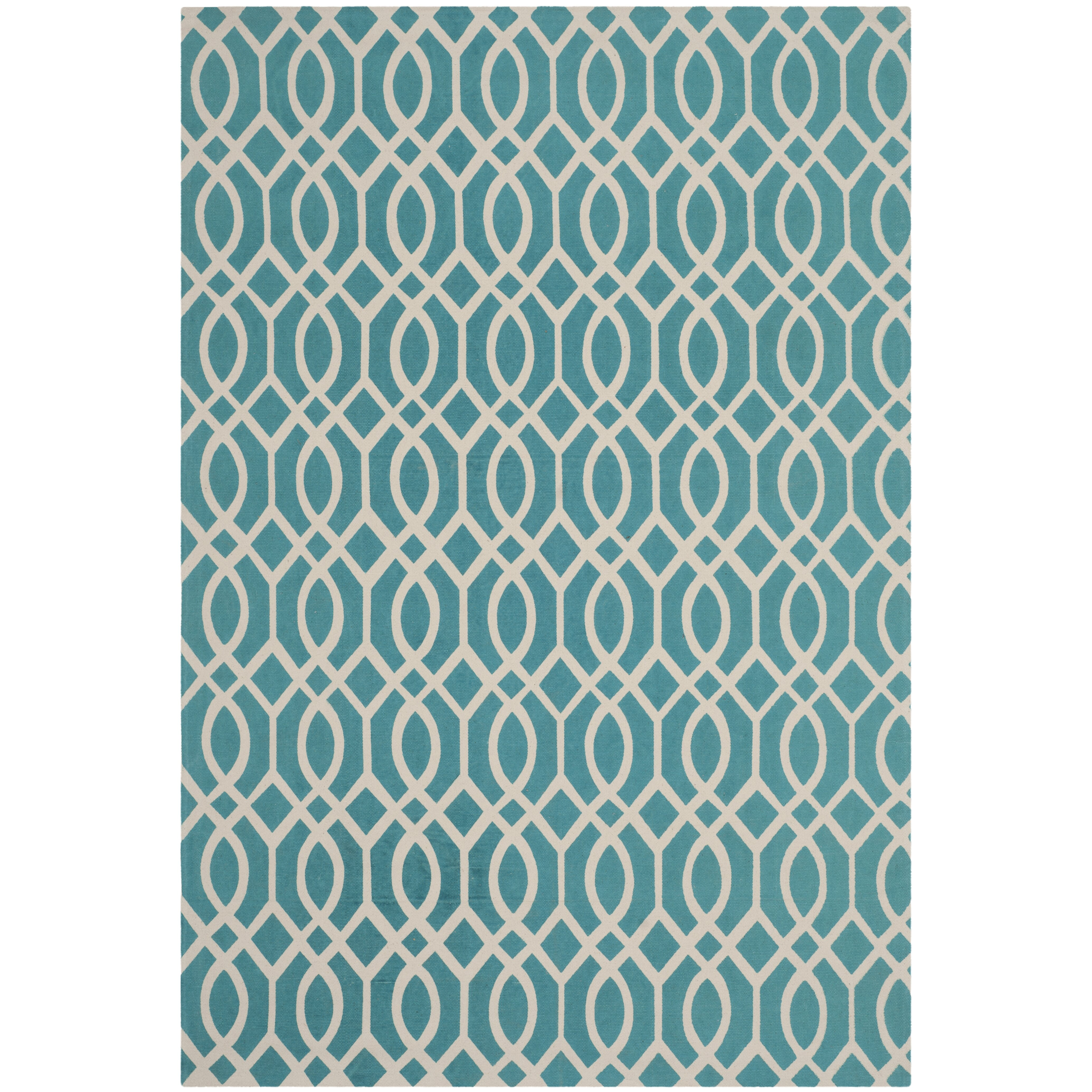 Safavieh Cedar Brook Light Teal / Ivory Rug & Reviews