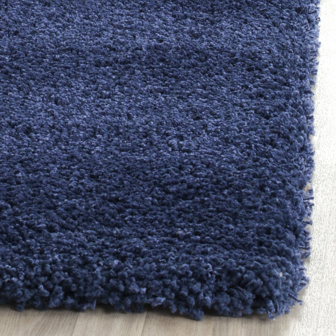 Milan Shag Navy Area Rug Wayfair