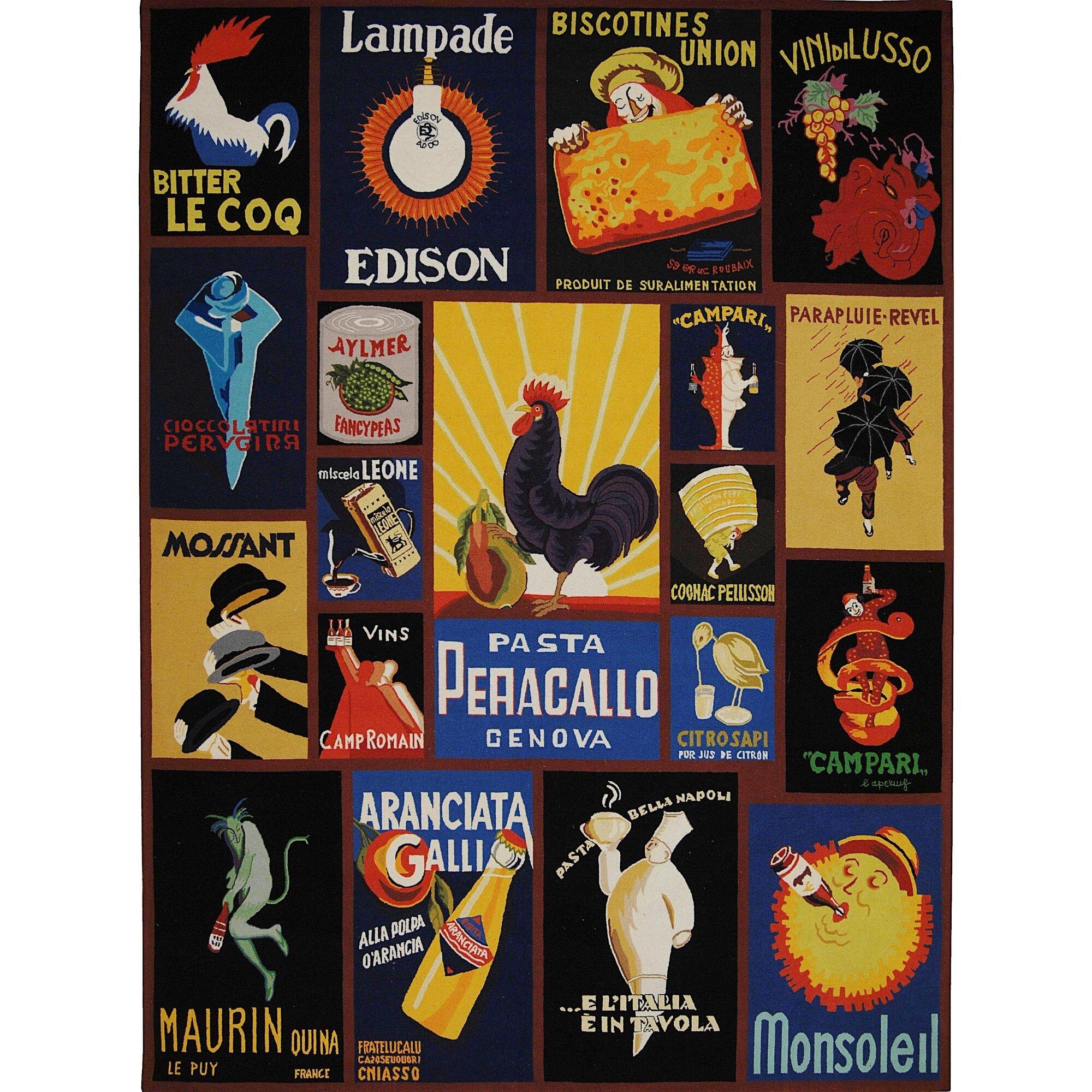 Vintage Poster Rugs 11