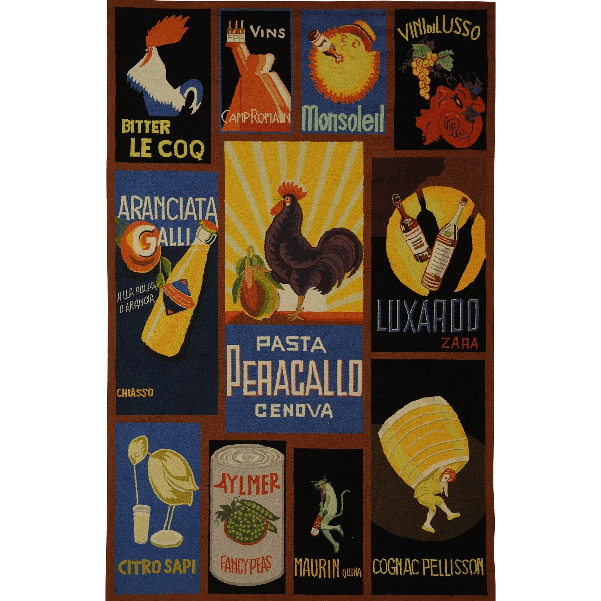 Vintage Poster Rugs 86