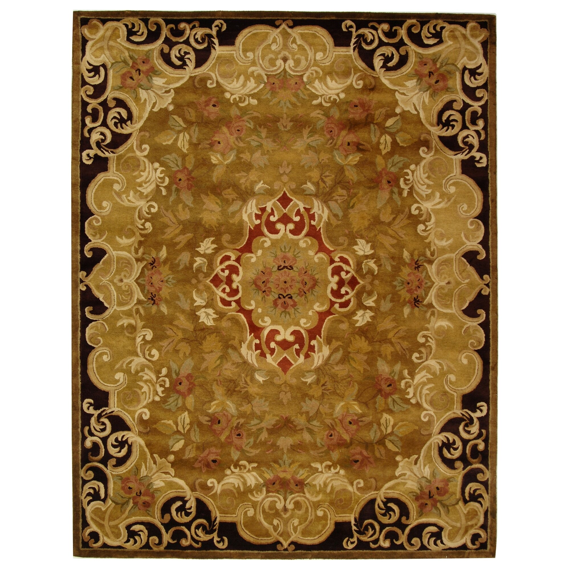 Rug Runner Gold: Classic Gold/Cola Rug