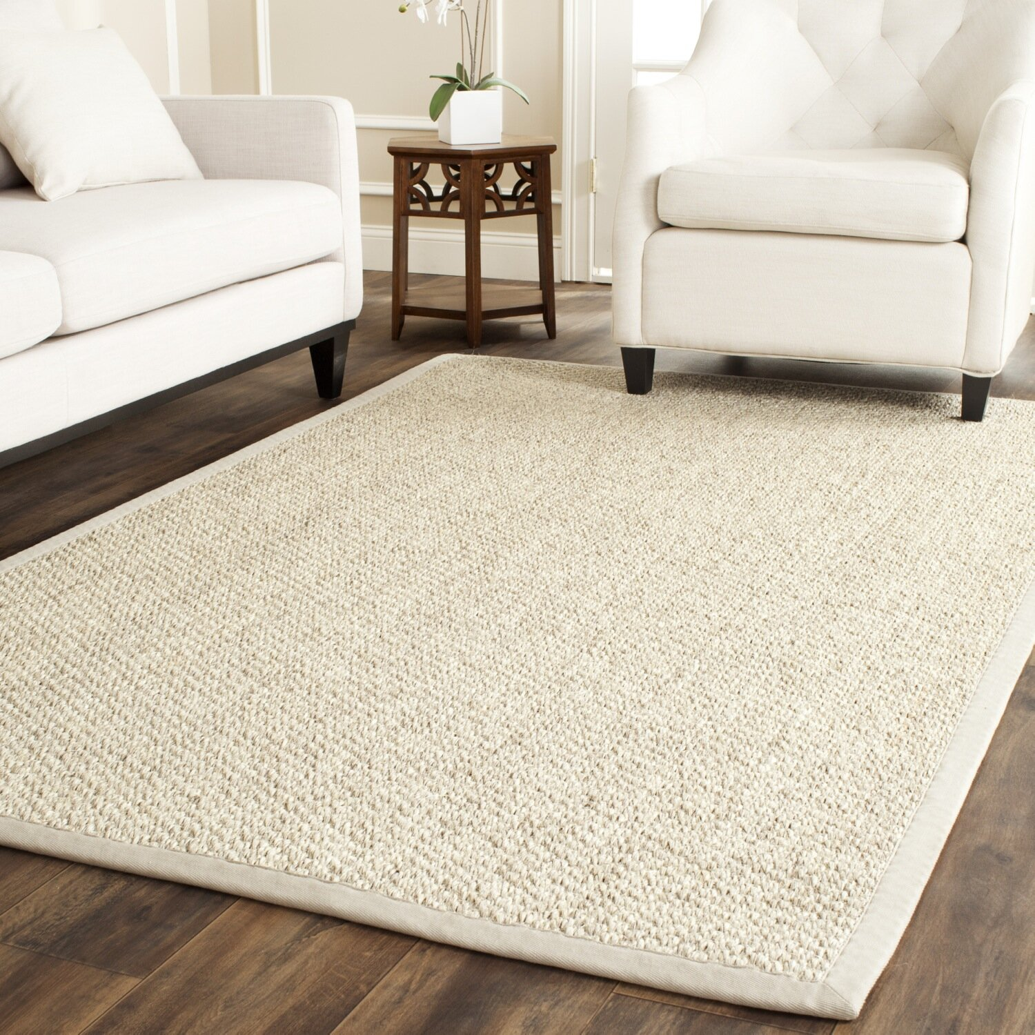 Safavieh Natural Fiber Sisal Marble Indoor Area Rug