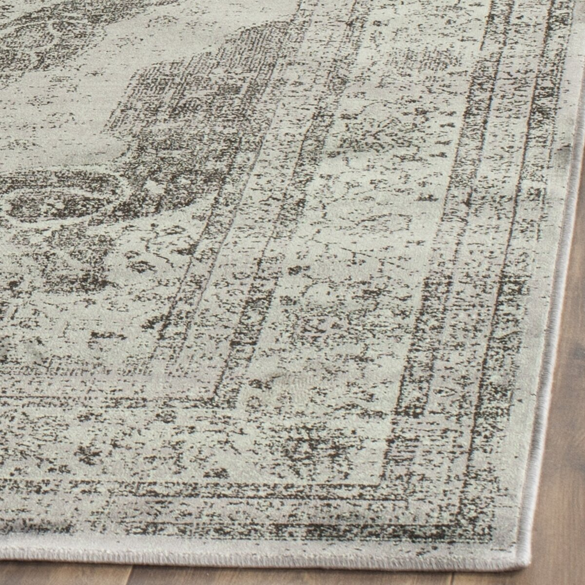 Vintage Gray Beige Area Rug Wayfair
