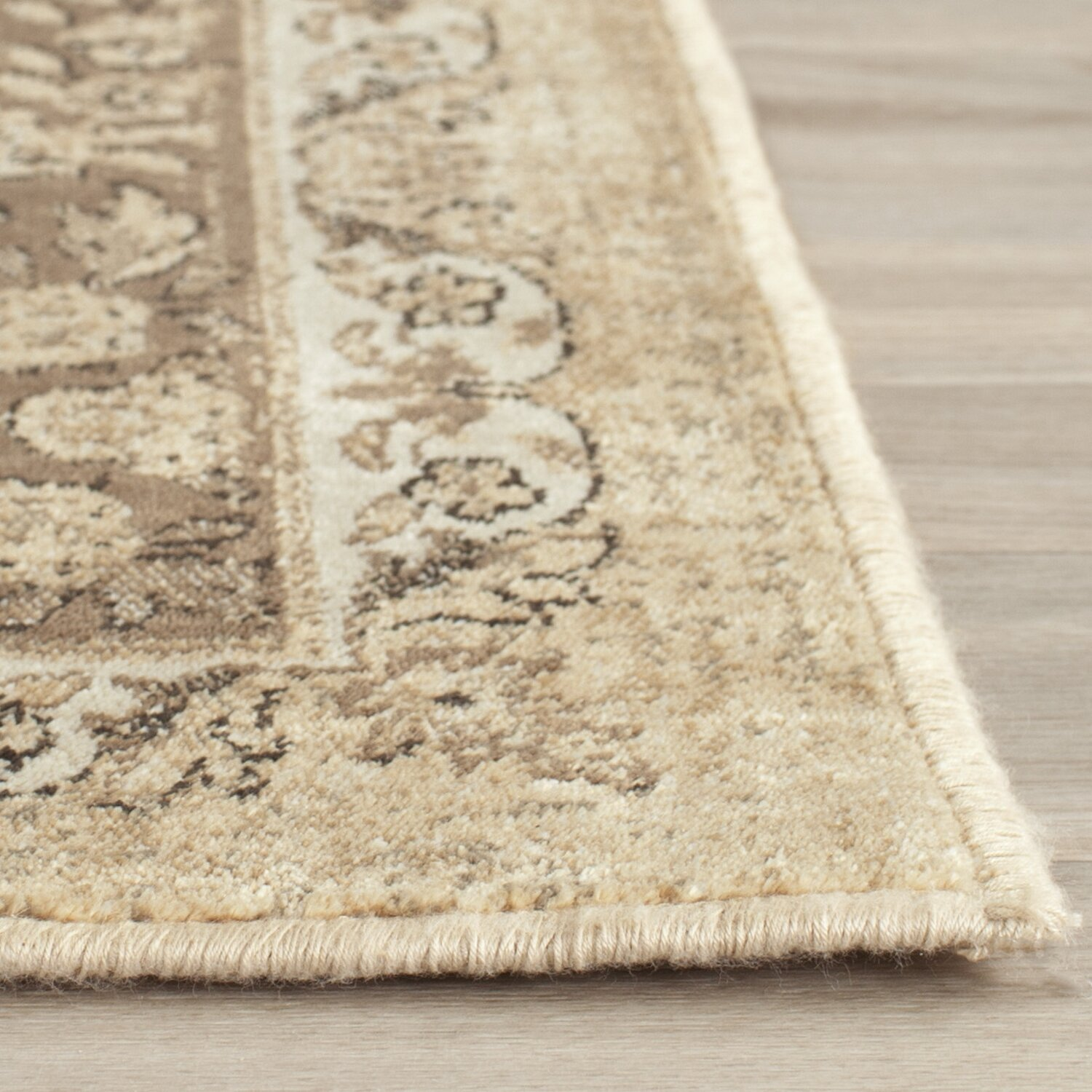 A Warm Rug Some Fall Primping Home Decor: Safavieh Vintage Warm Beige Area Rug & Reviews