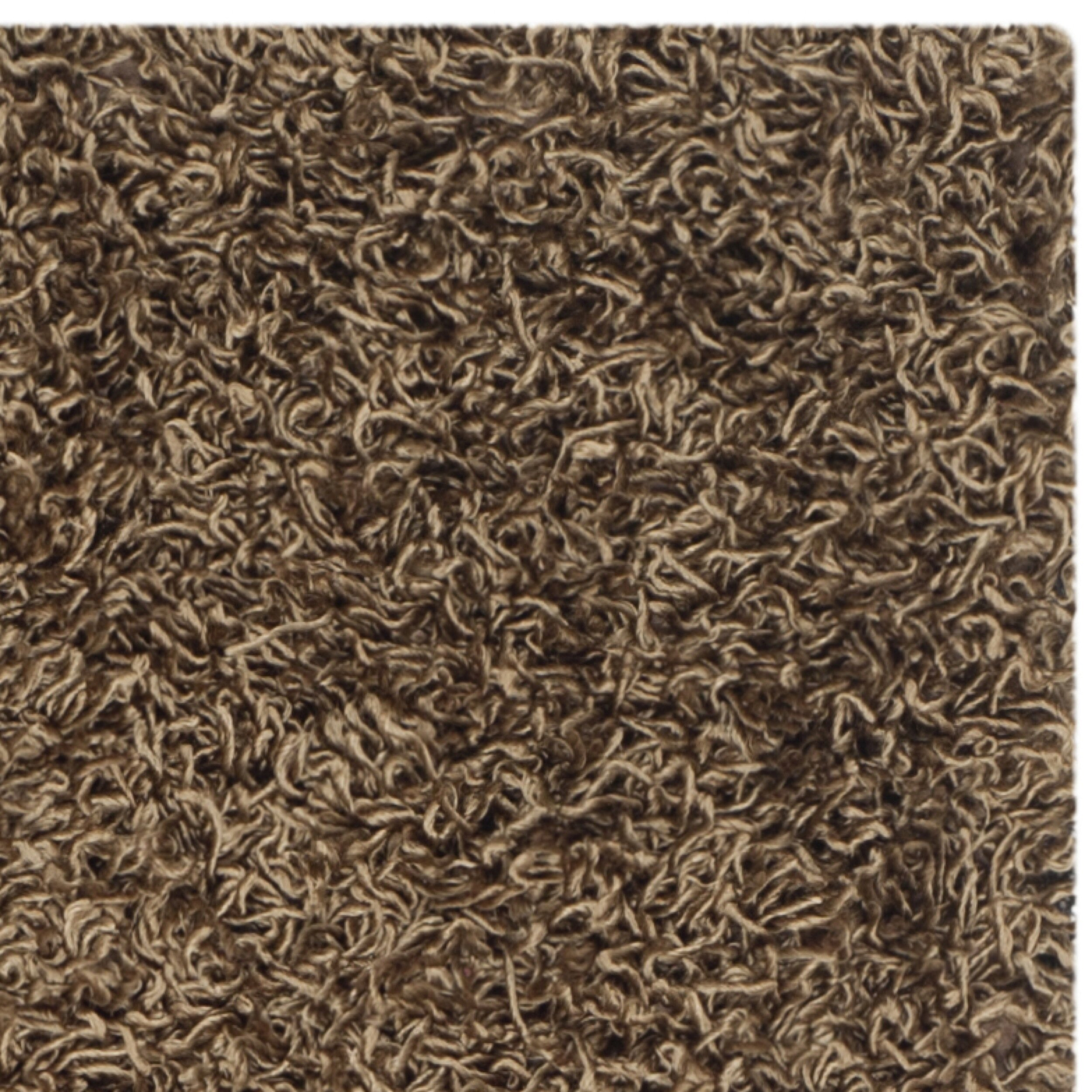 shag light brown area rug wayfair. Black Bedroom Furniture Sets. Home Design Ideas