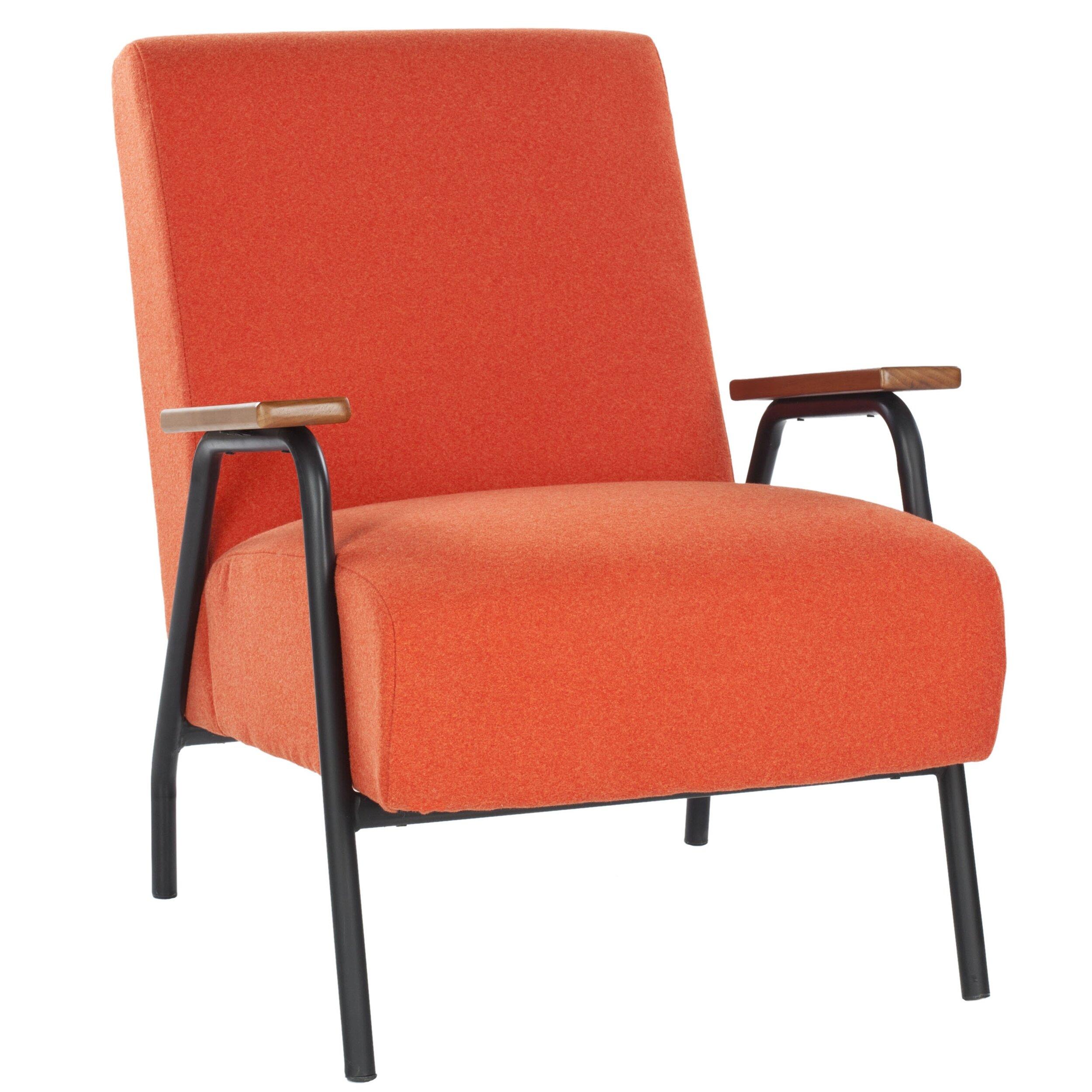 Safavieh Drew Fabric Arm Chair Allmodern