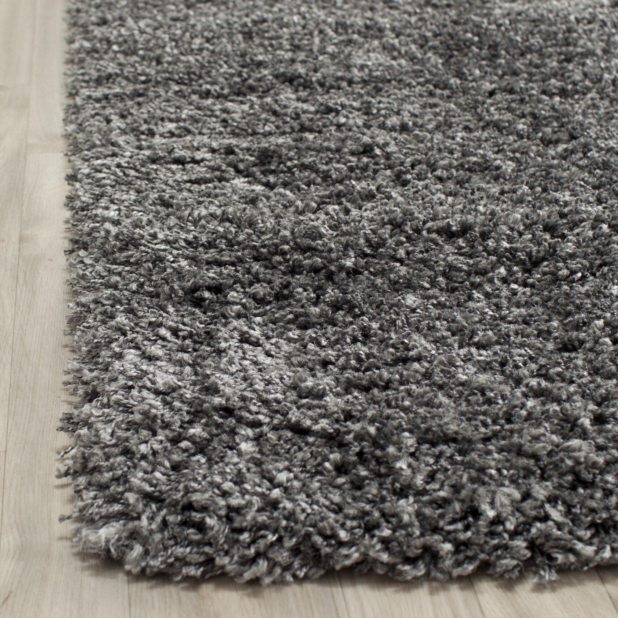 Dark Silver Rug: Safavieh Shag Dark Grey Area Rug & Reviews