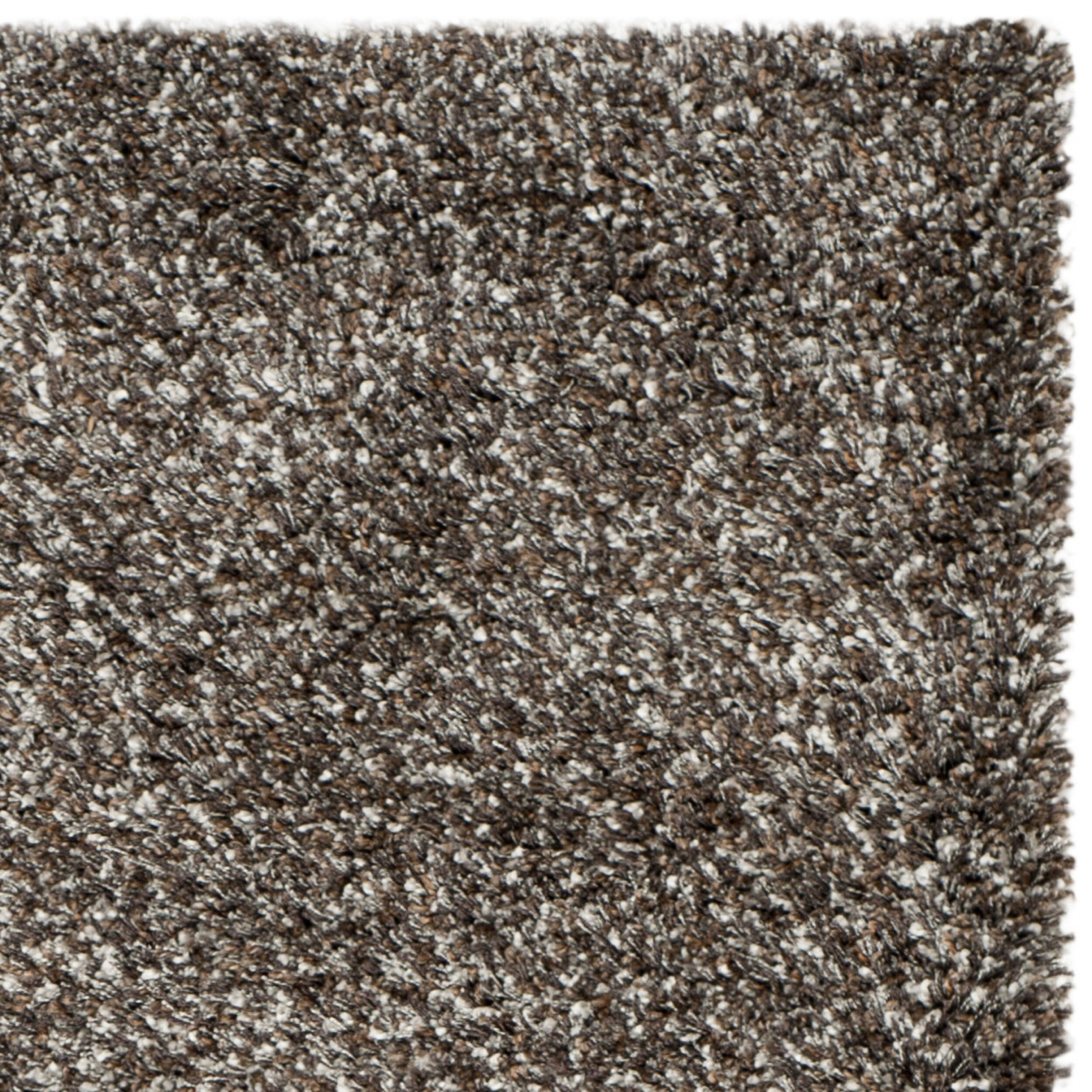 Safavieh new york shag brown solid area rug allmodern for Area rugs new york