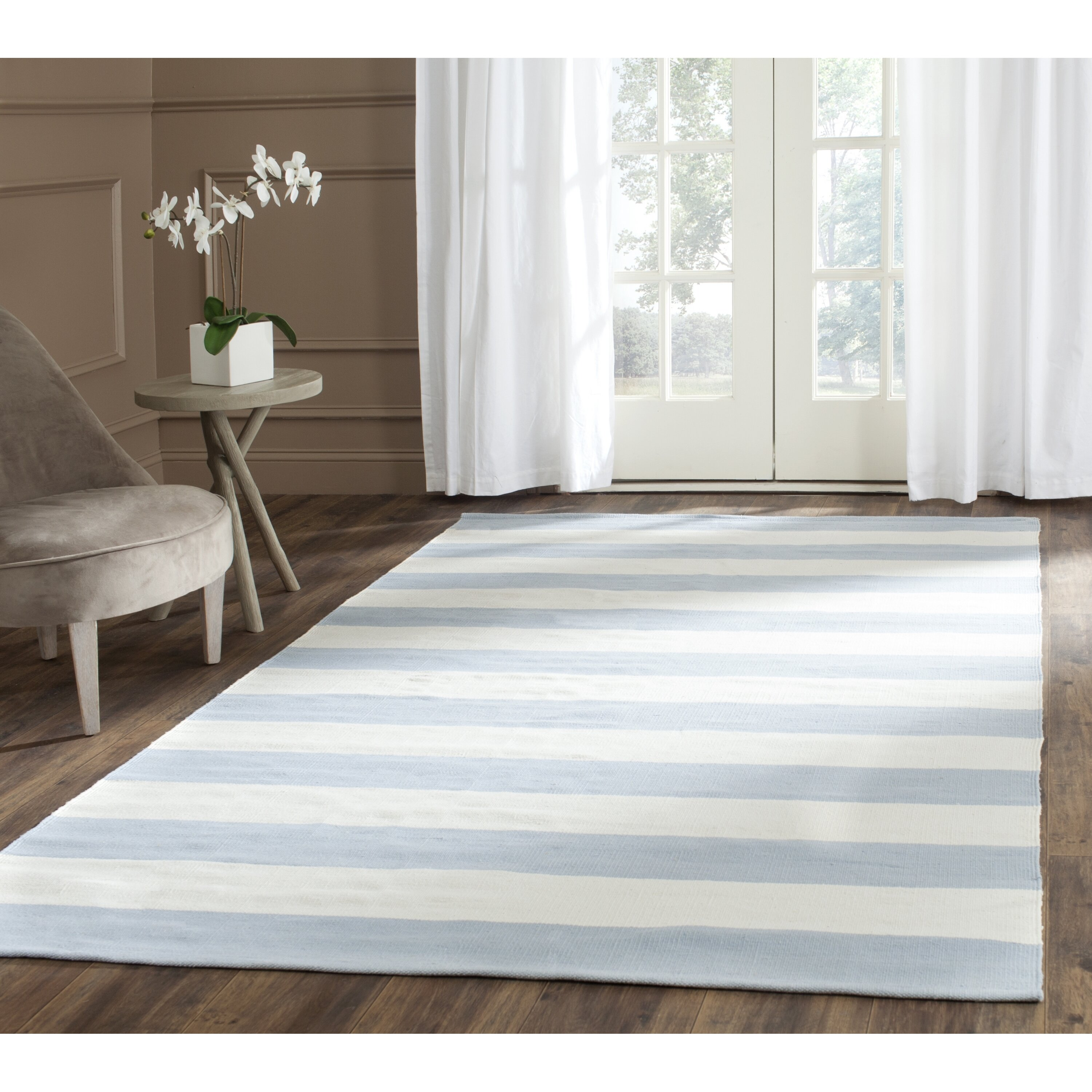 safavieh montauk sky blueivory area rug cheerful home office rug wayfair safavieh