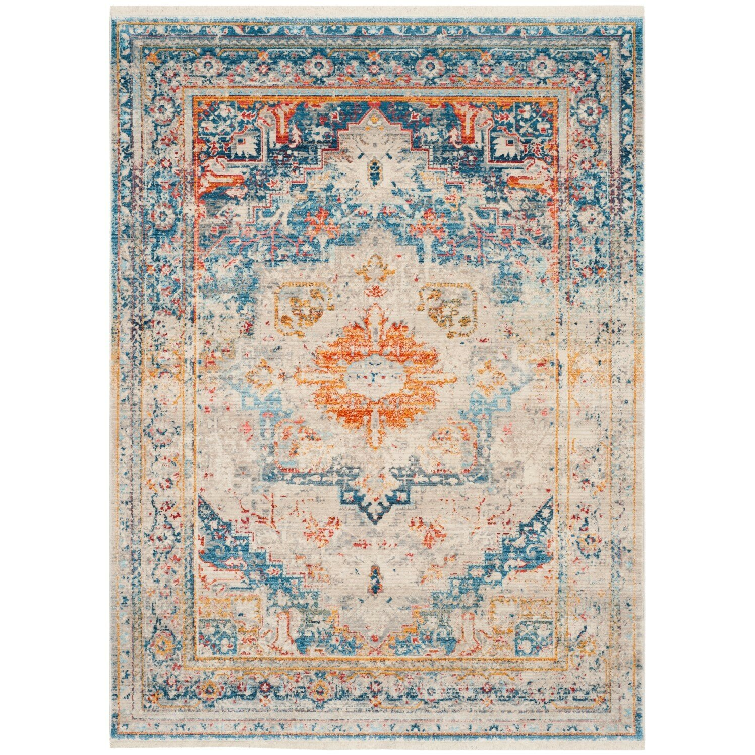 Vintage Persian Area Rug Wayfair