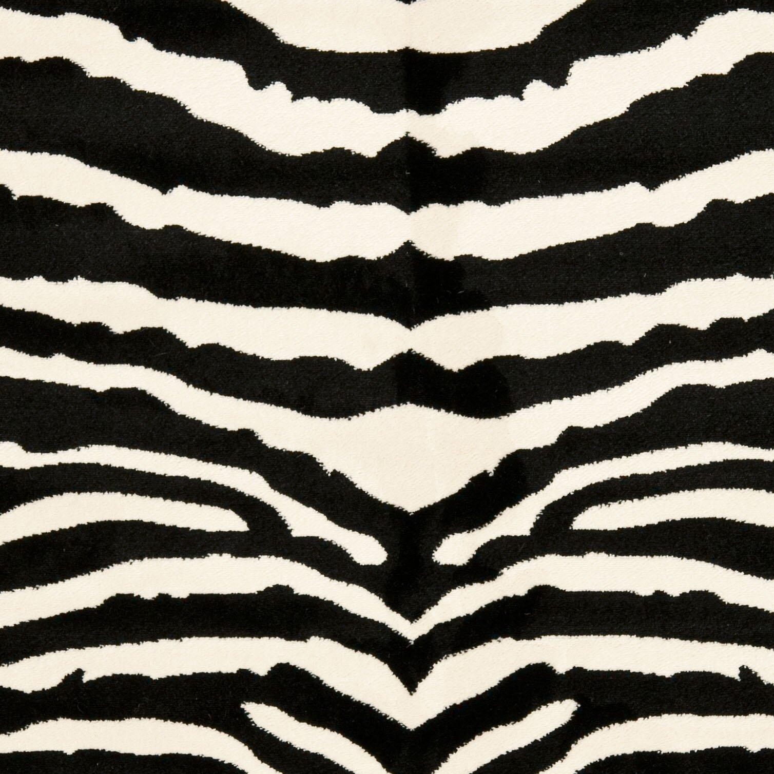 Animal Print Rug Wayfair: Safavieh Lyndhurst Cream/Black Area Rug & Reviews