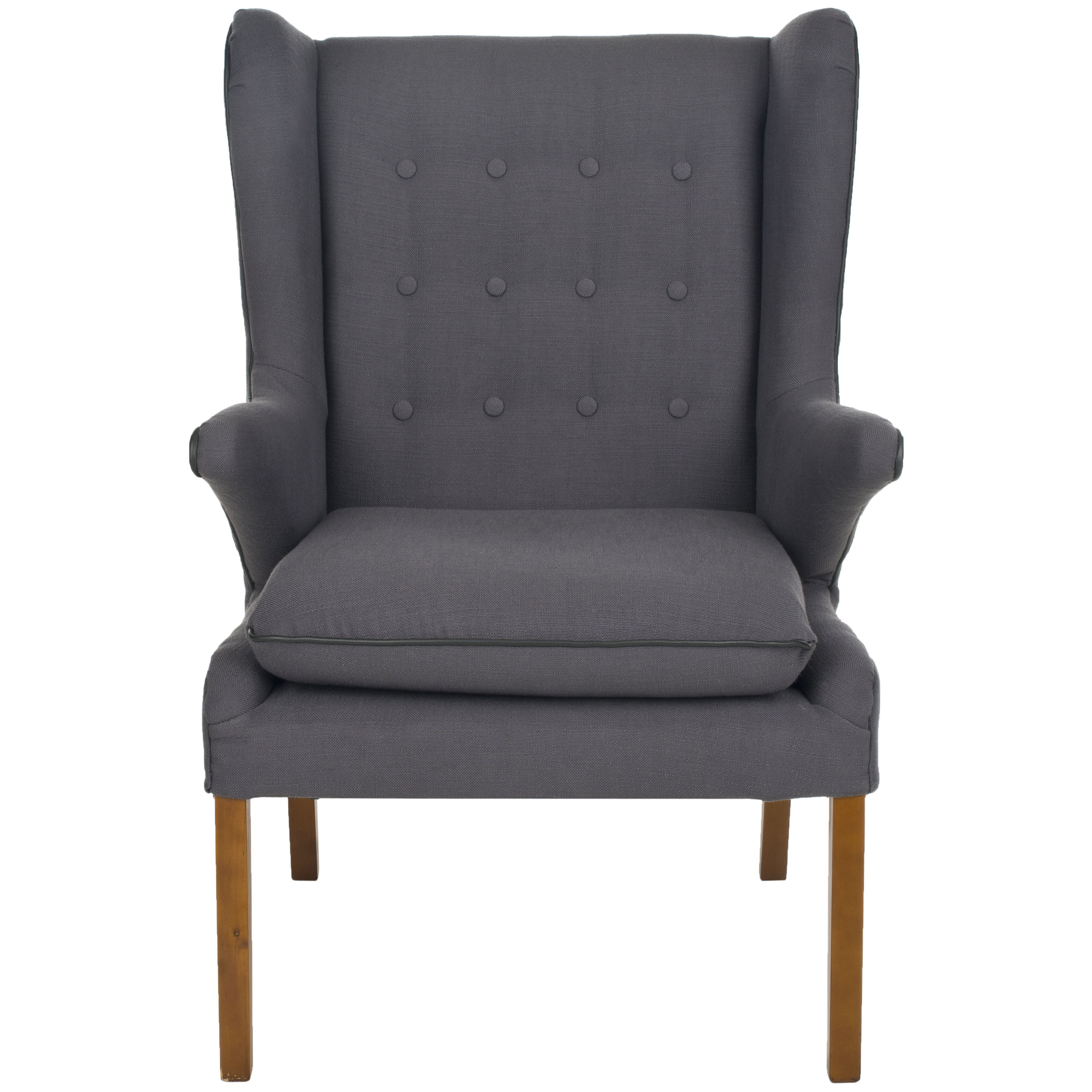 Safavieh Gomer Wing Arm Chair & Reviews | Wayfair