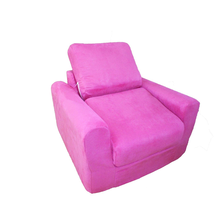 Kid s Micro Suede Foam Chair Sleeper