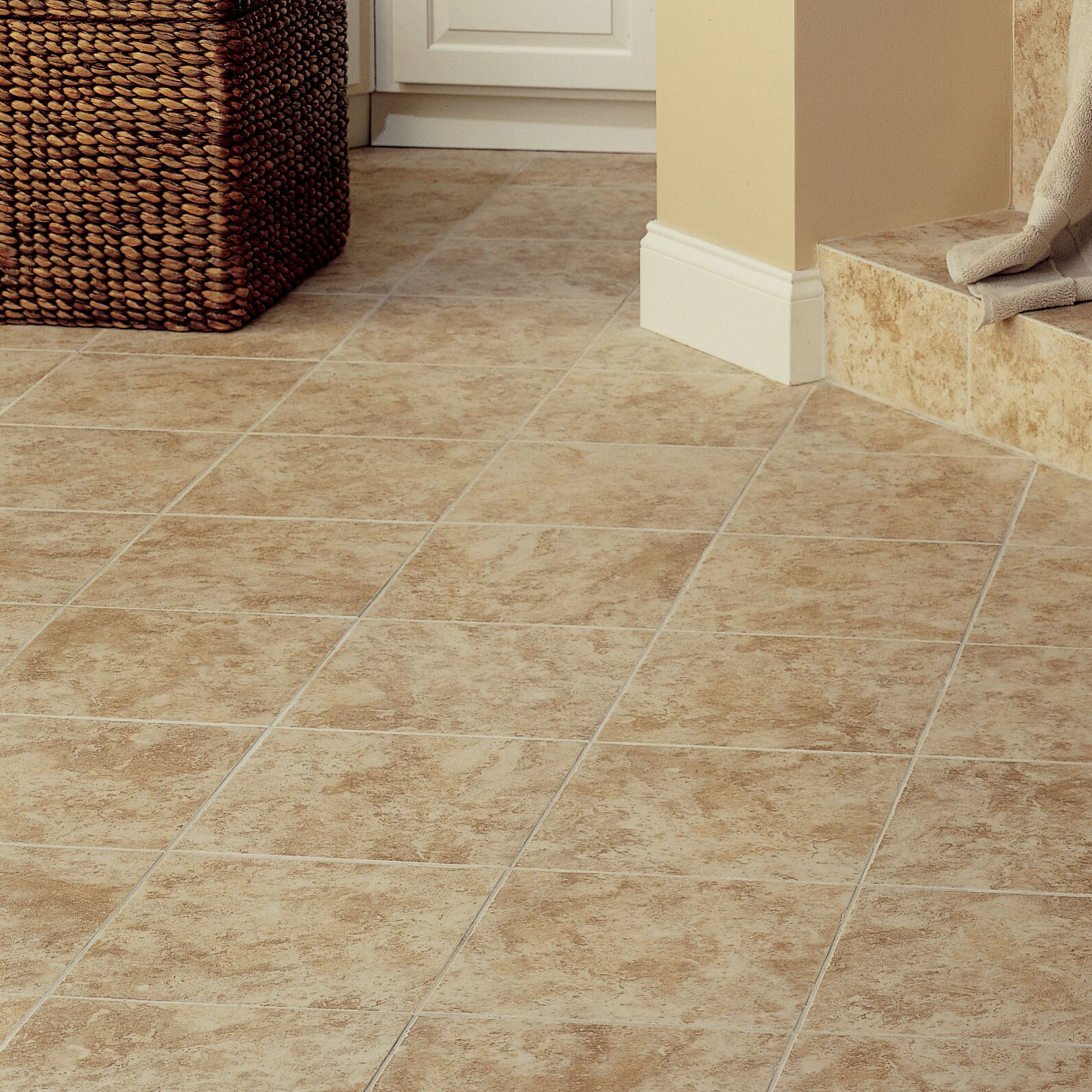 Mohawk ristano 9 x 12 ceramic field tile in noce allmodern for Mohawk flooring