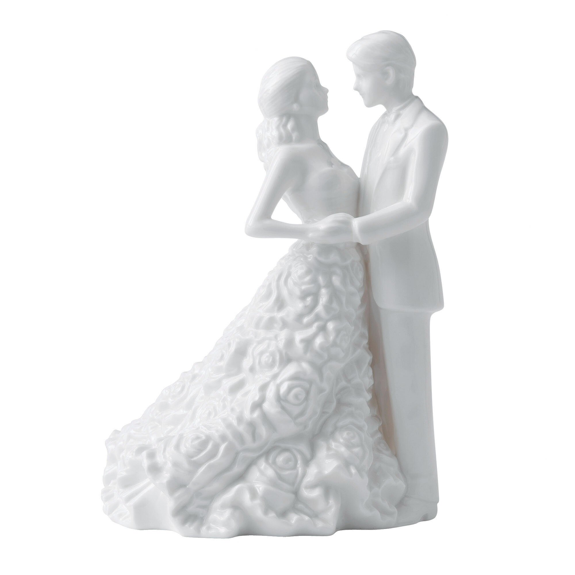 Modern Love Bride And Groom Cake Topper
