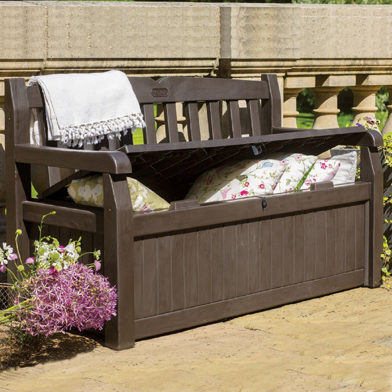 Crib Bench Toy Box
