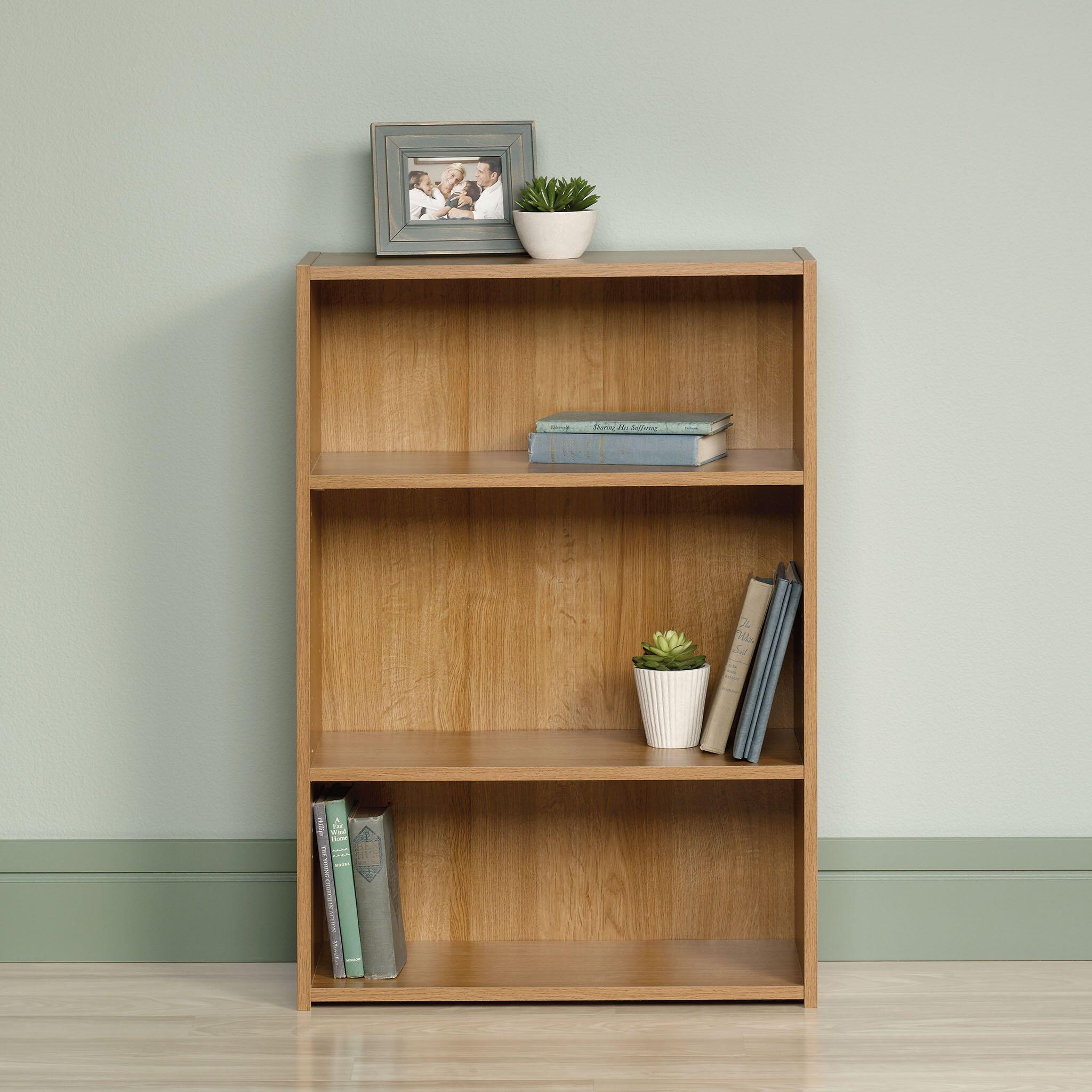 sauder beginnings standard bookcase reviews wayfair. Black Bedroom Furniture Sets. Home Design Ideas