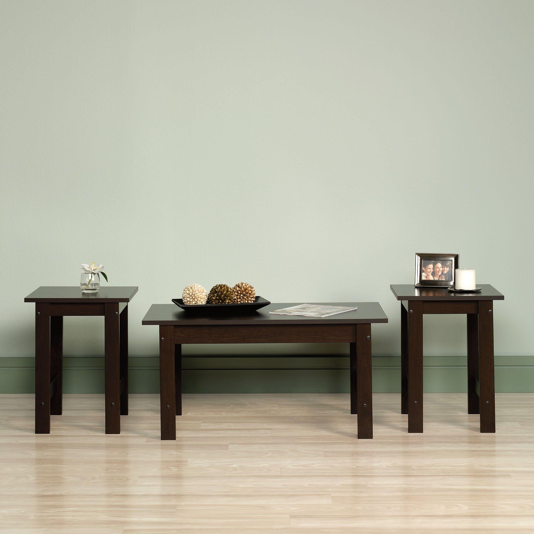 Beginnings 3 Piece Coffee Table Set Wayfair