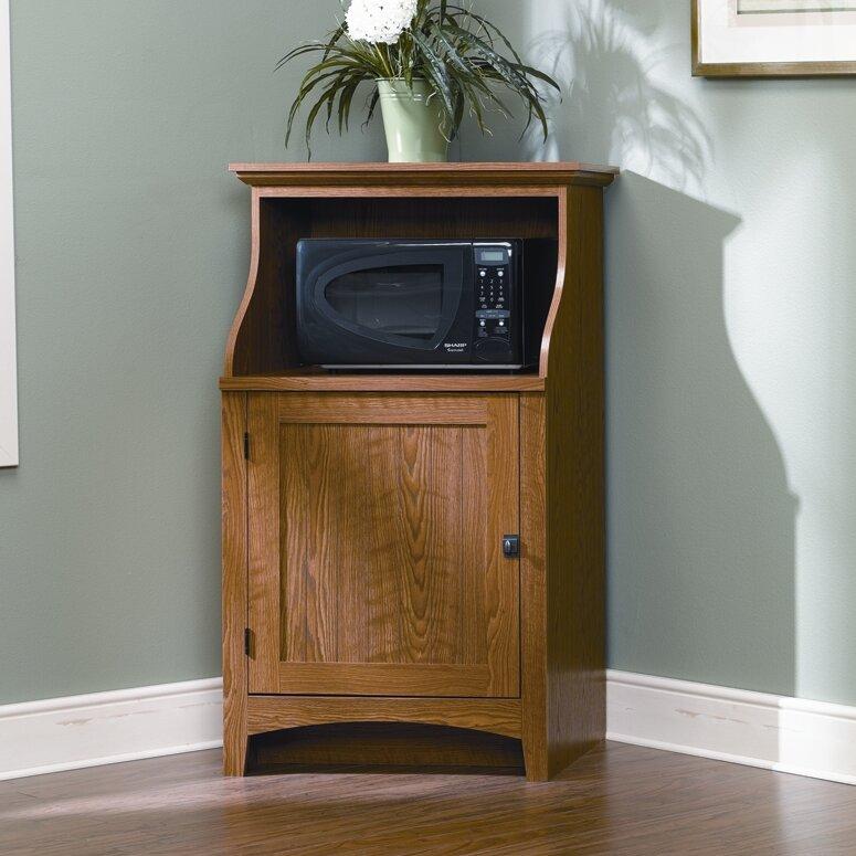 Sauder Summer Home Microwave Cart & Reviews | Wayfair