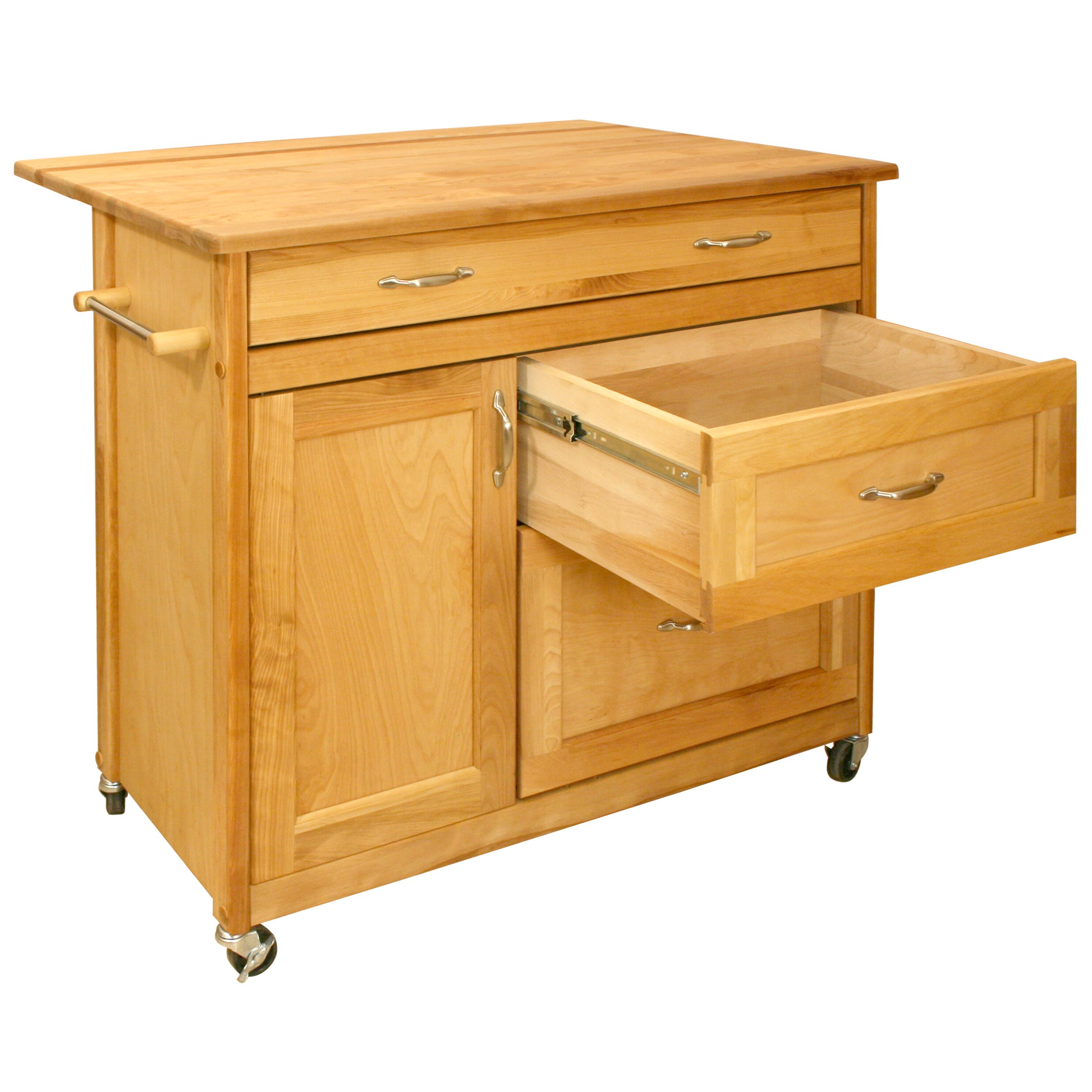 catskill craftsmen kitchen island amp reviews wayfair