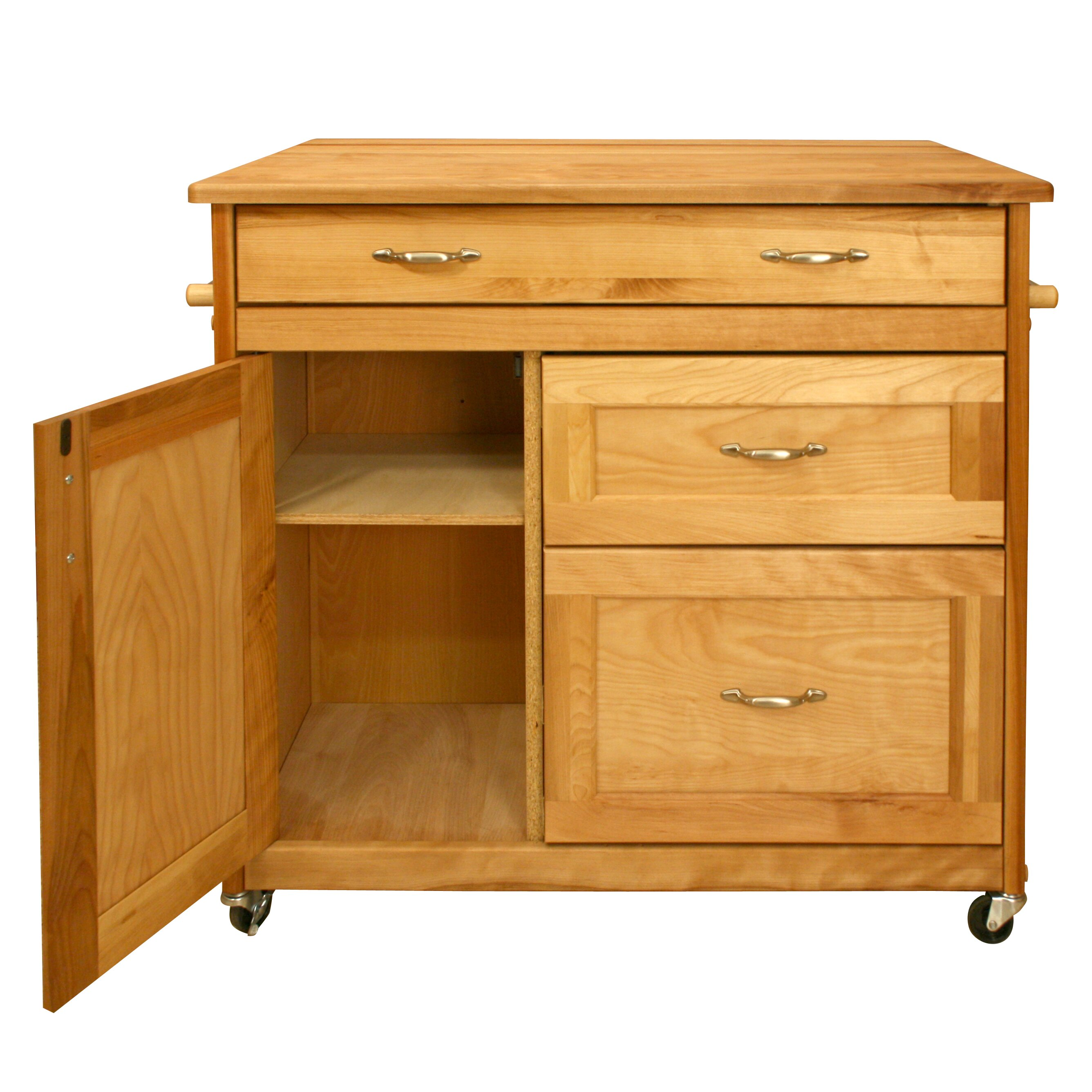 catskill craftsmen kitchen island amp reviews wayfair catskill craftsmen kitchen island with wood top amp reviews