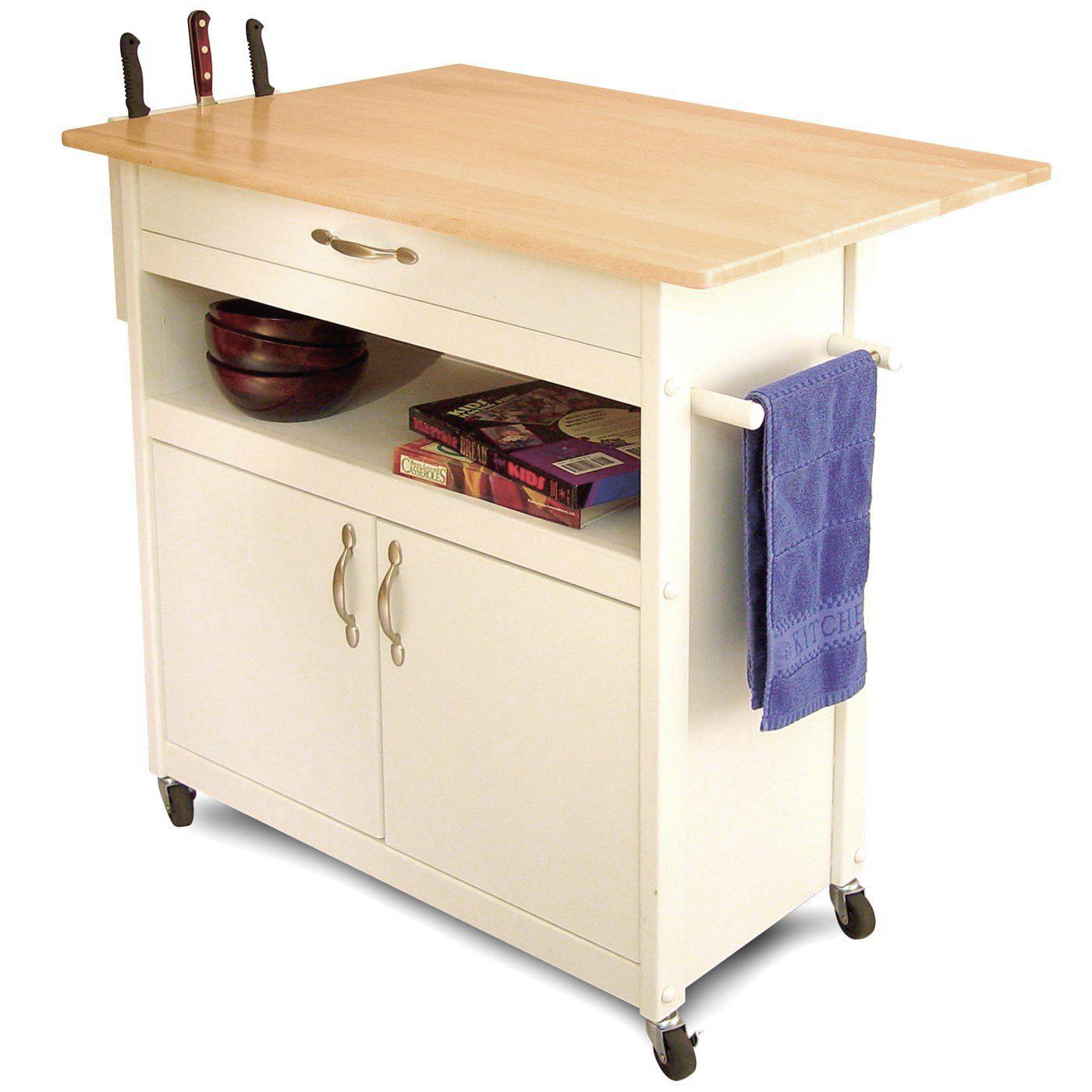 Catskill Craftsmen Cottage Kitchen Cart Amp Reviews Wayfair