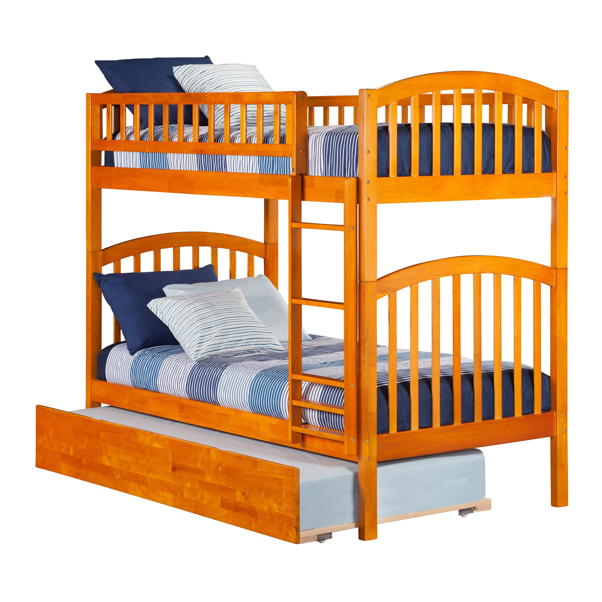 Richland Twin Bunk Bed : Wayfair