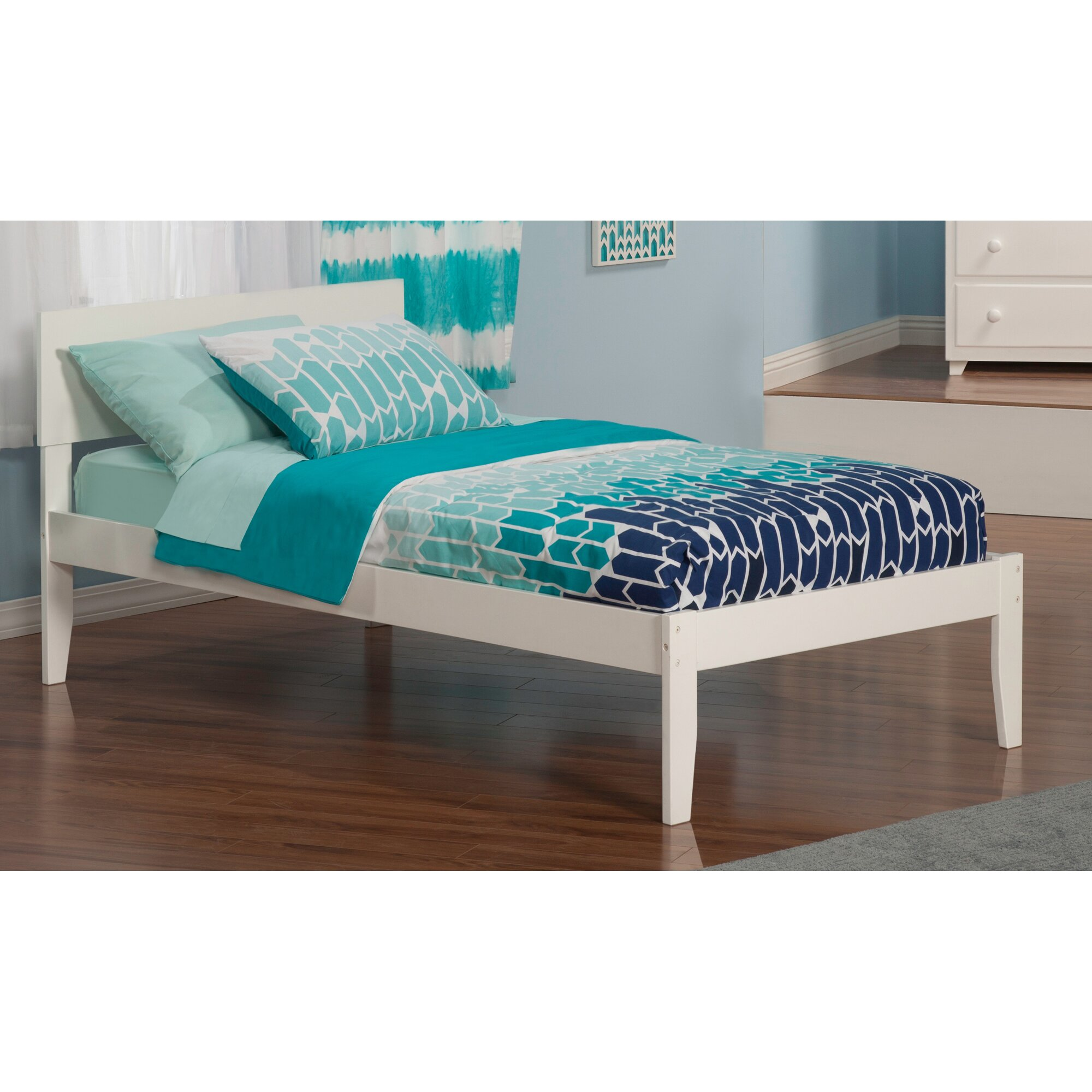 Atlantic Furniture Orlando Extra Long Twin Panel Bed