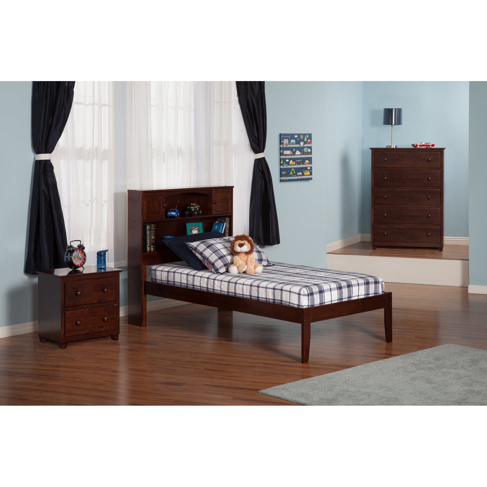 Newport Extra Long Twin Platform Bed Wayfair