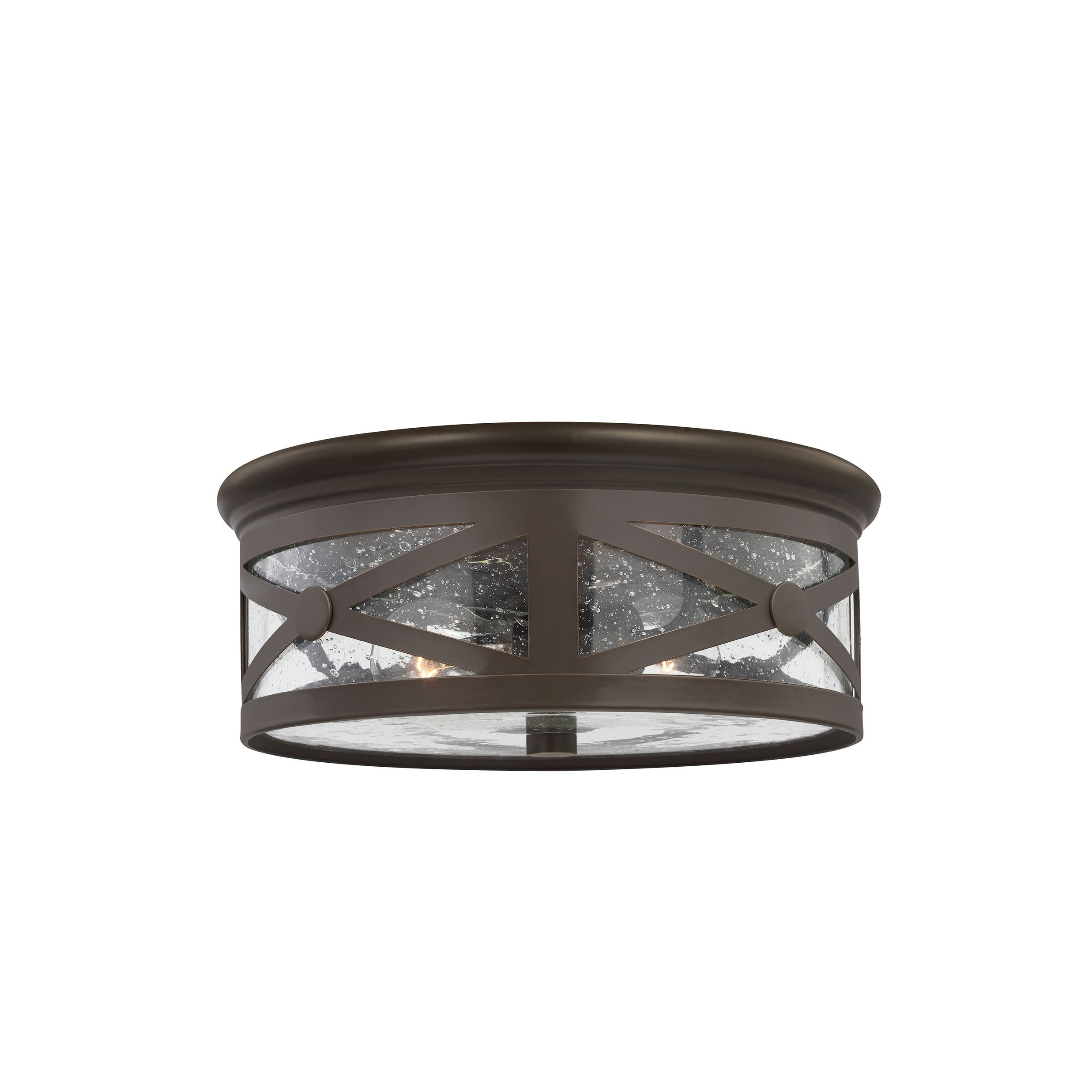 Falmouth 2 Light Outdoor Flush Mount