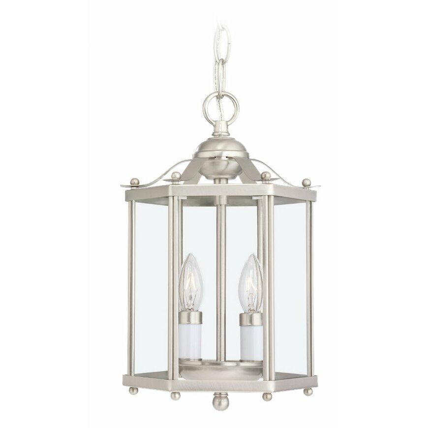 Foyer Ceiling Reviews : Sea gull lighting light foyer pendant reviews wayfair