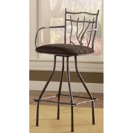 Artisan home furniture cantina 30 swivel bar stool with cushion reviews Artisan home furniture bar stools