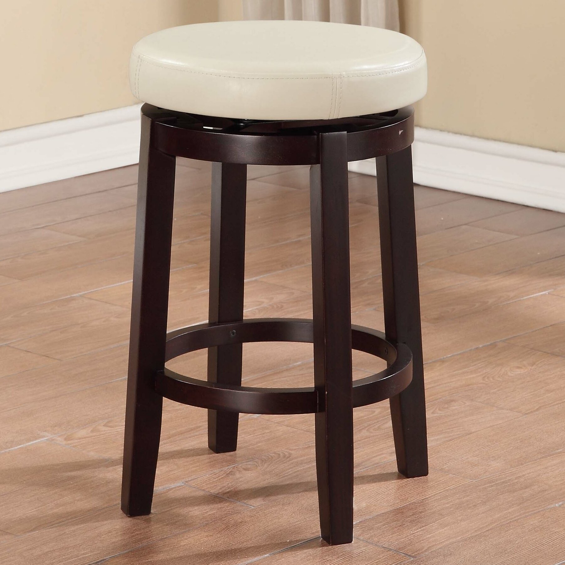 Maya 24 Quot Swivel Bar Stool Wayfair