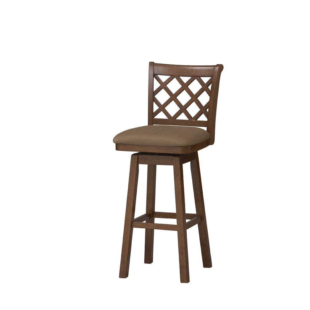 Sussex 24 Quot Swivel Bar Stool With Cushion Wayfair Ca