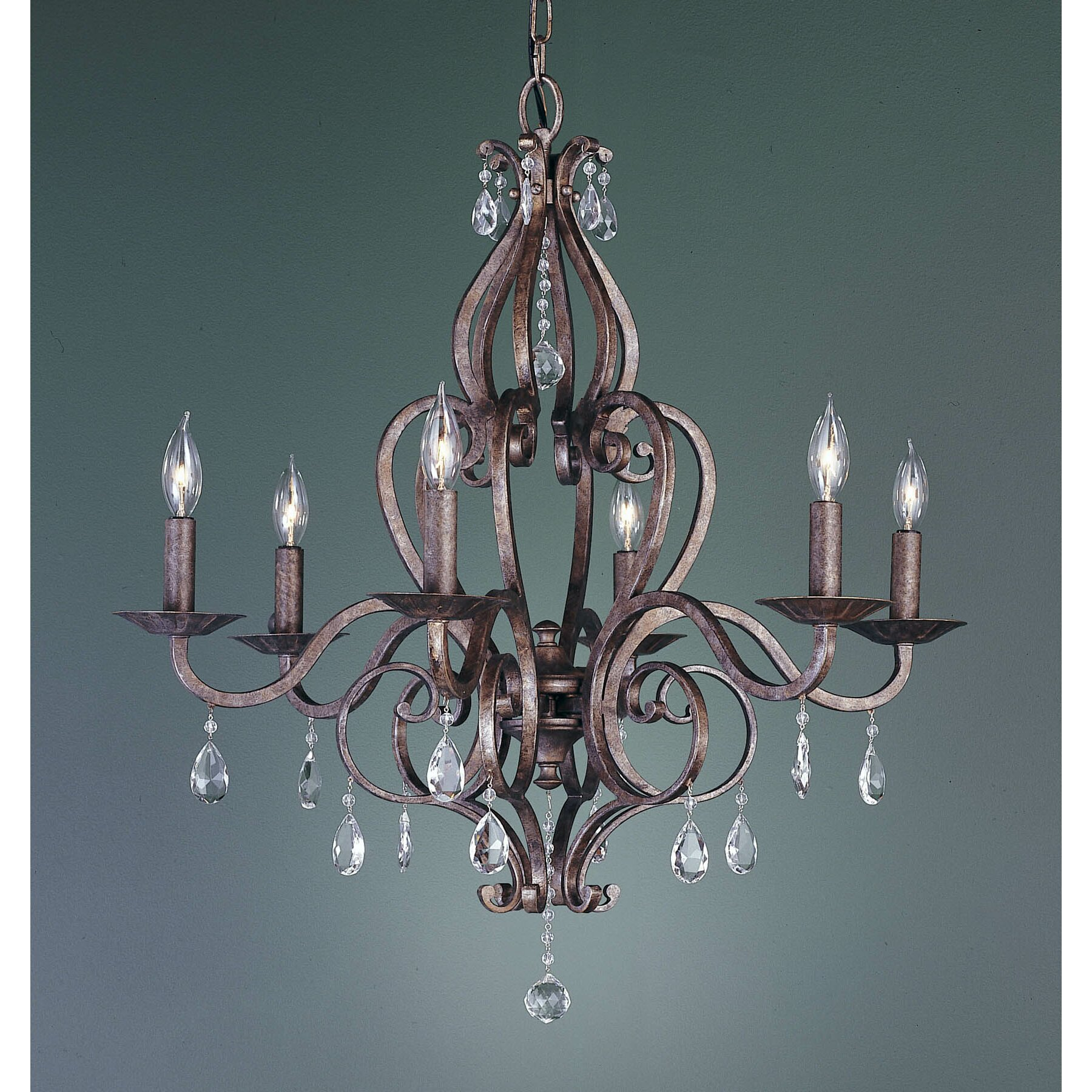 Wayfair Chandelier: Mademoiselle 6 Light Chandelier