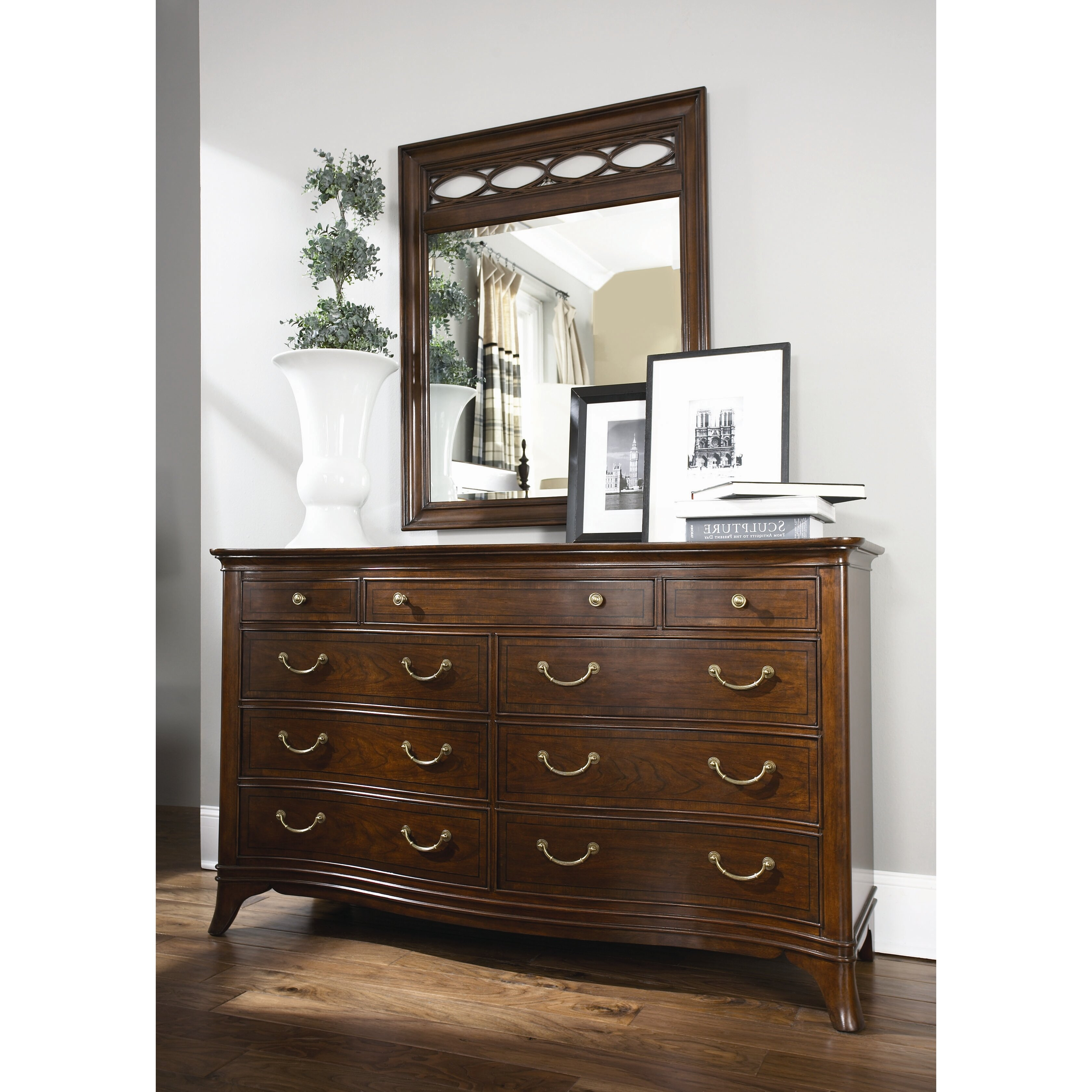 cherry grove new generation triple 9 drawer dresser with
