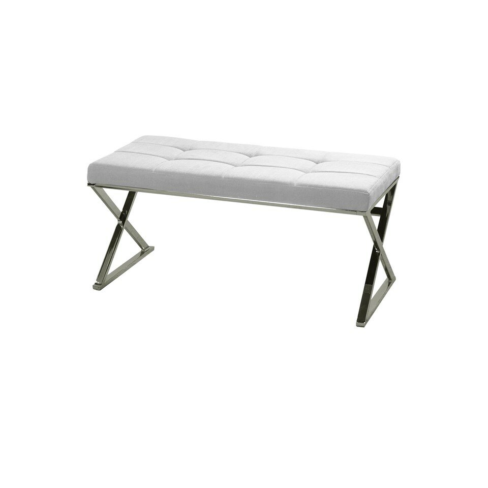 Style Craft Contemporary Upholstered Bedroom Bench