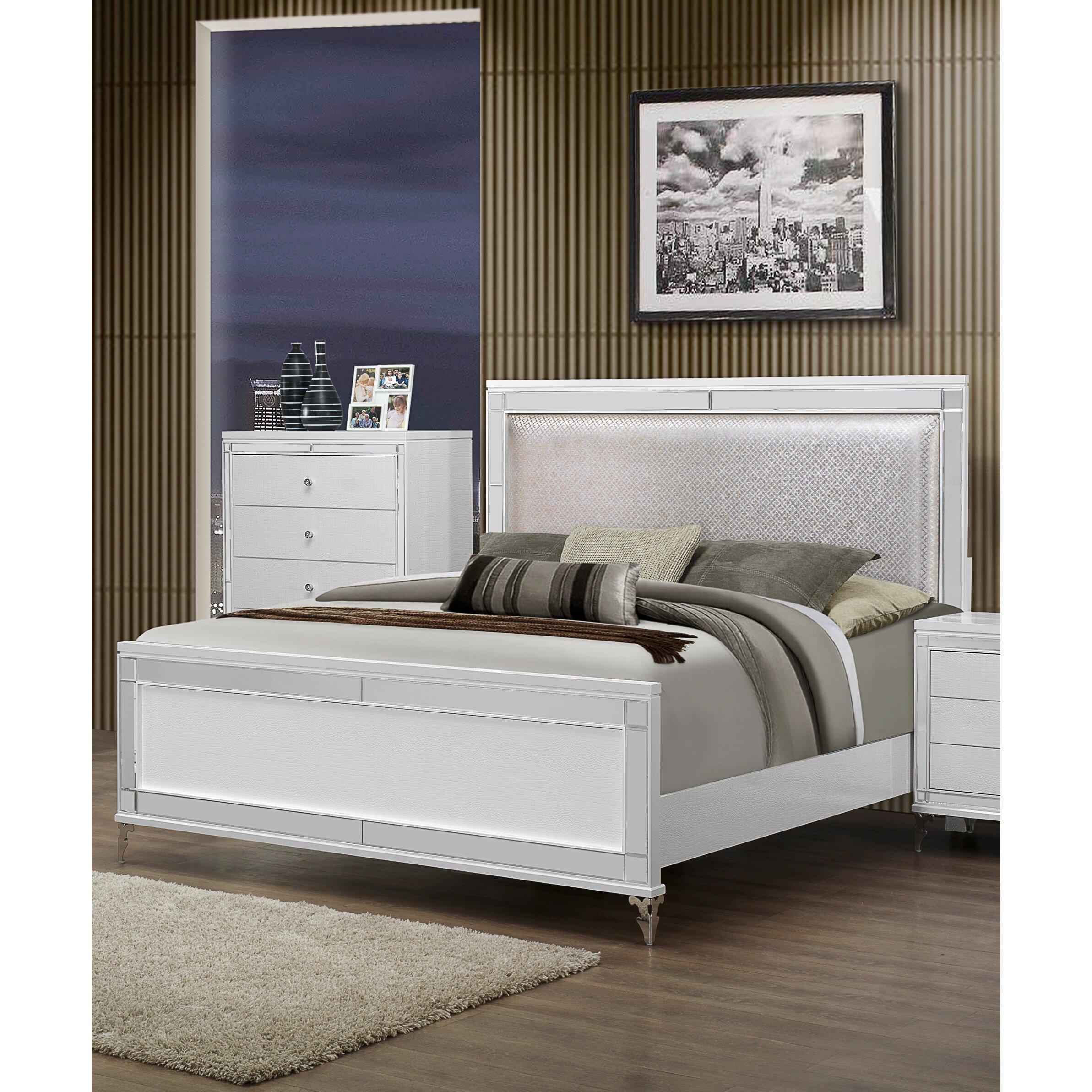 Global Furniture USA Catalina Panel Customizable Bedroom